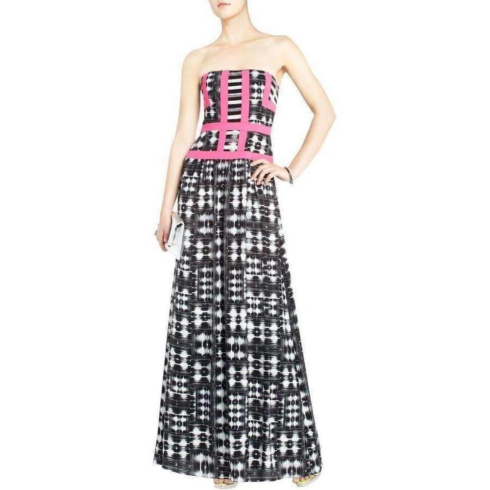 f1c82499d8 BCBGMAXAZRIA. Women s Black Bcbg Maxazria Gracelyn Maxi Cocktail Dress ...