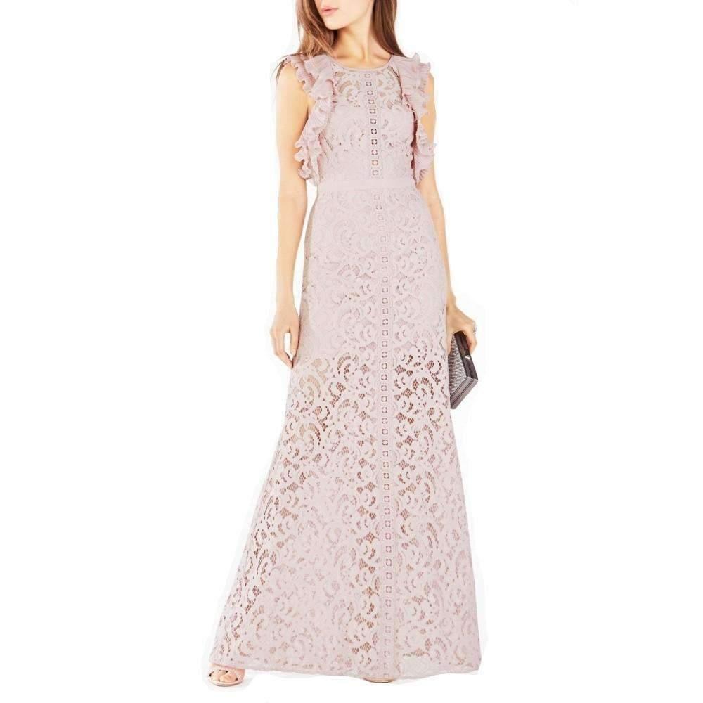 dc7e9f948e2 BCBGMAXAZRIA. Women s Geanna Lace Blocked Gown Lcc63d80-527.  590 From Runway  Catalog