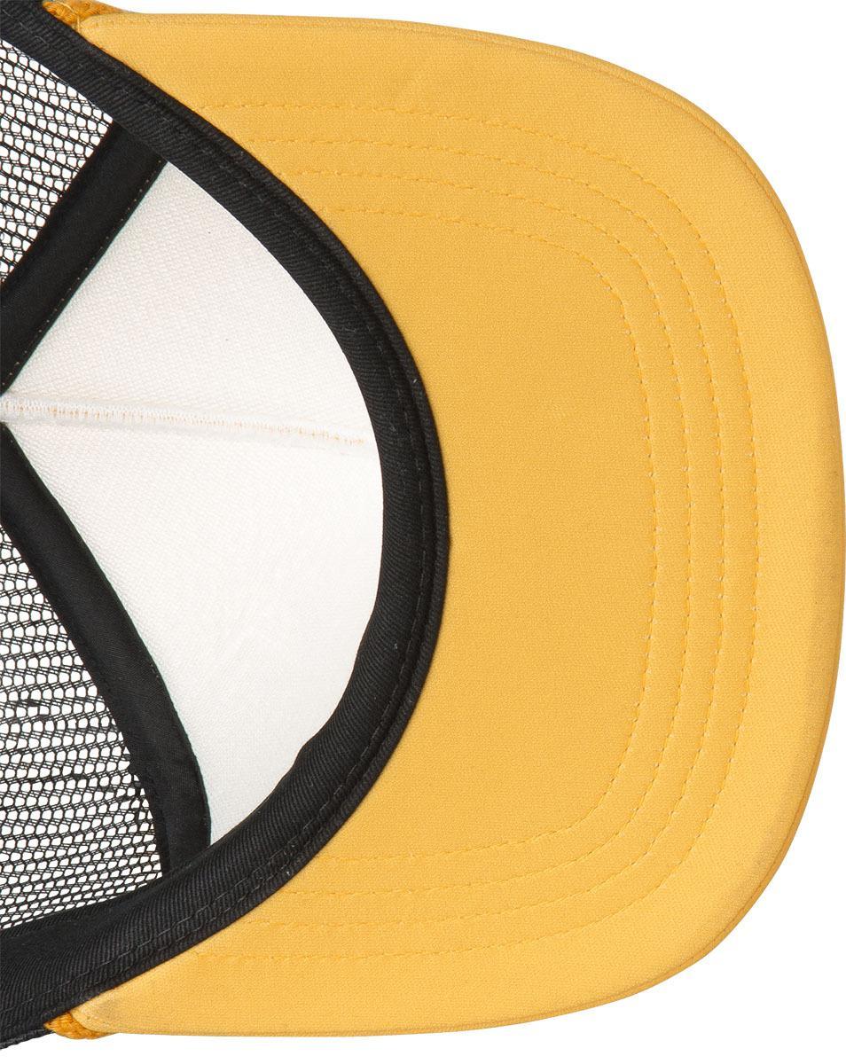 new arrival 2ed96 95370 Lyst - Rvca Foamy Trucker Hat in Yellow for Men