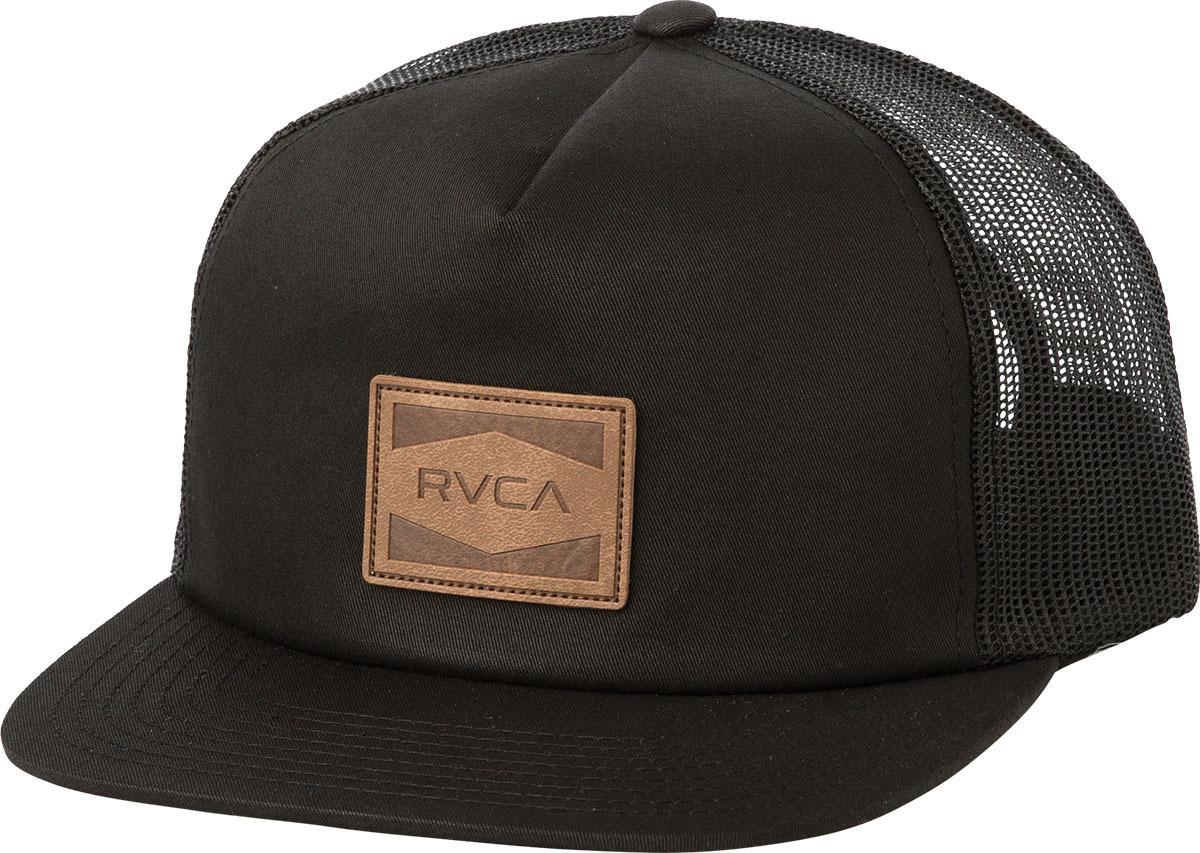 b9d10201 germany lyst rvca washburn trucker hat in black for men 80963 6c4db