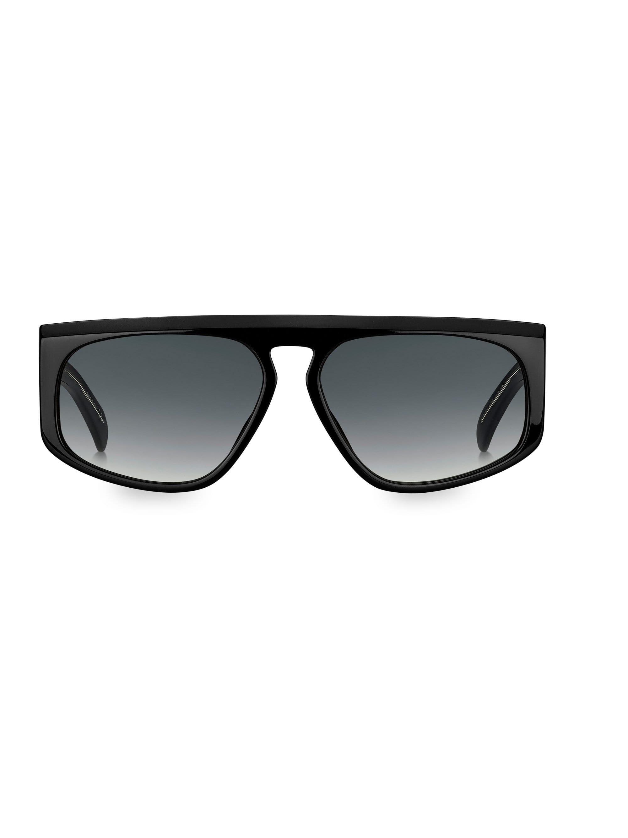 d374fc2541e00 Givenchy - Black 55mm Flat-top Gradient Acetate Sunglasses for Men - Lyst
