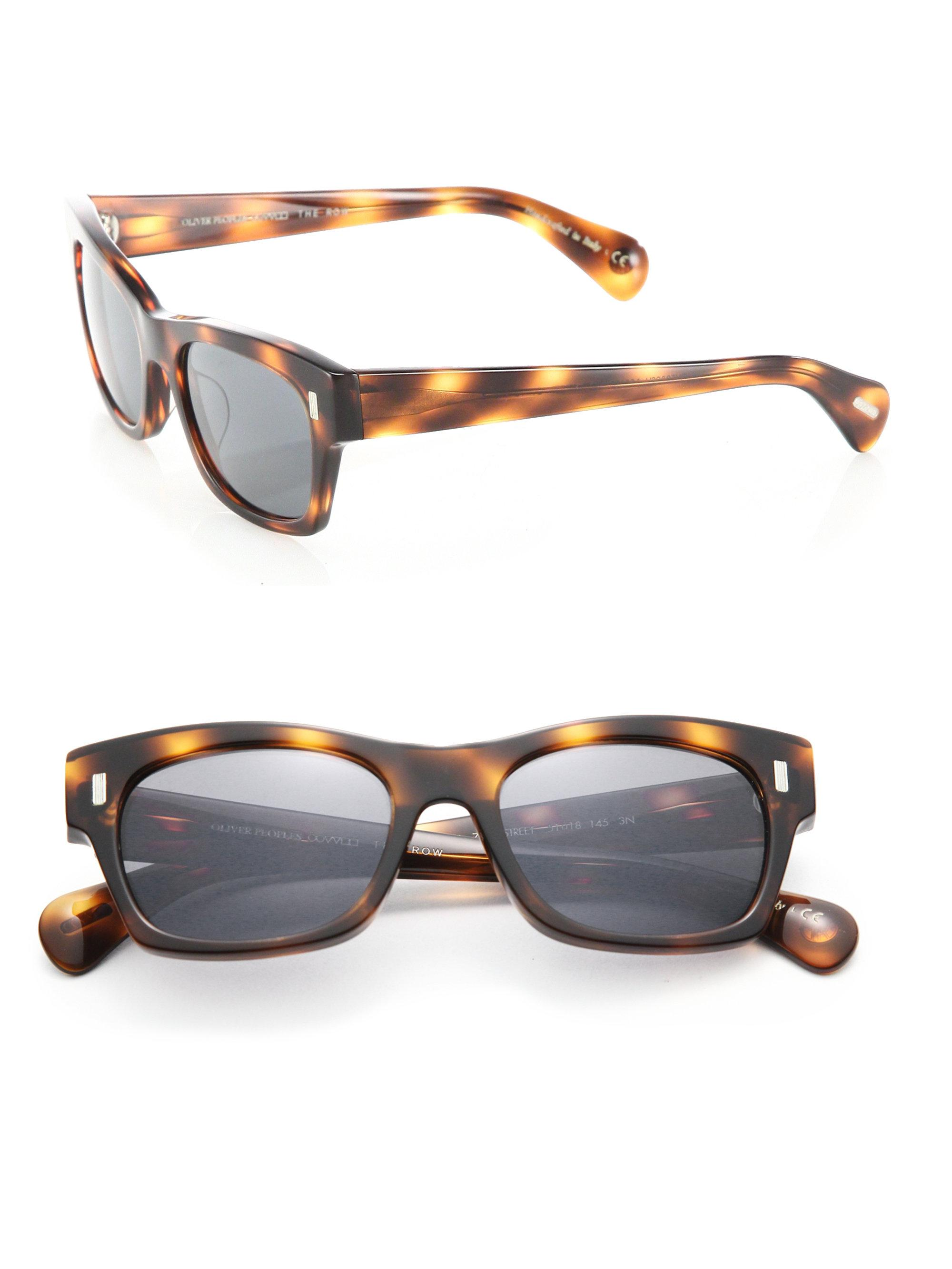 187f2eb1dd Oliver Peoples The Row For Oliver Peoples 71st Street 51mm Square ...