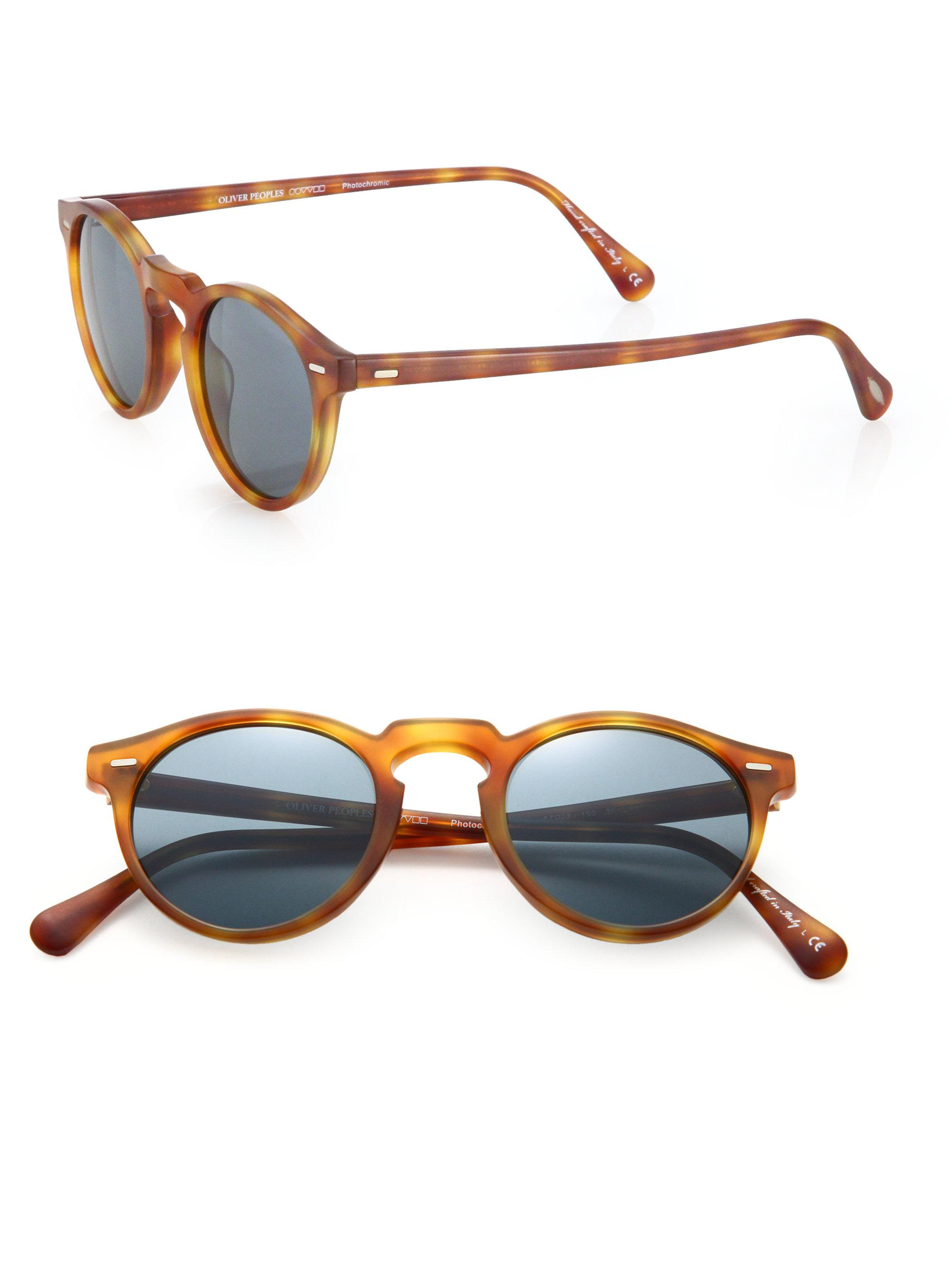 Gregory Peck Sunglasses  oliver peoples gregory peck sunglasses in blue for men lyst