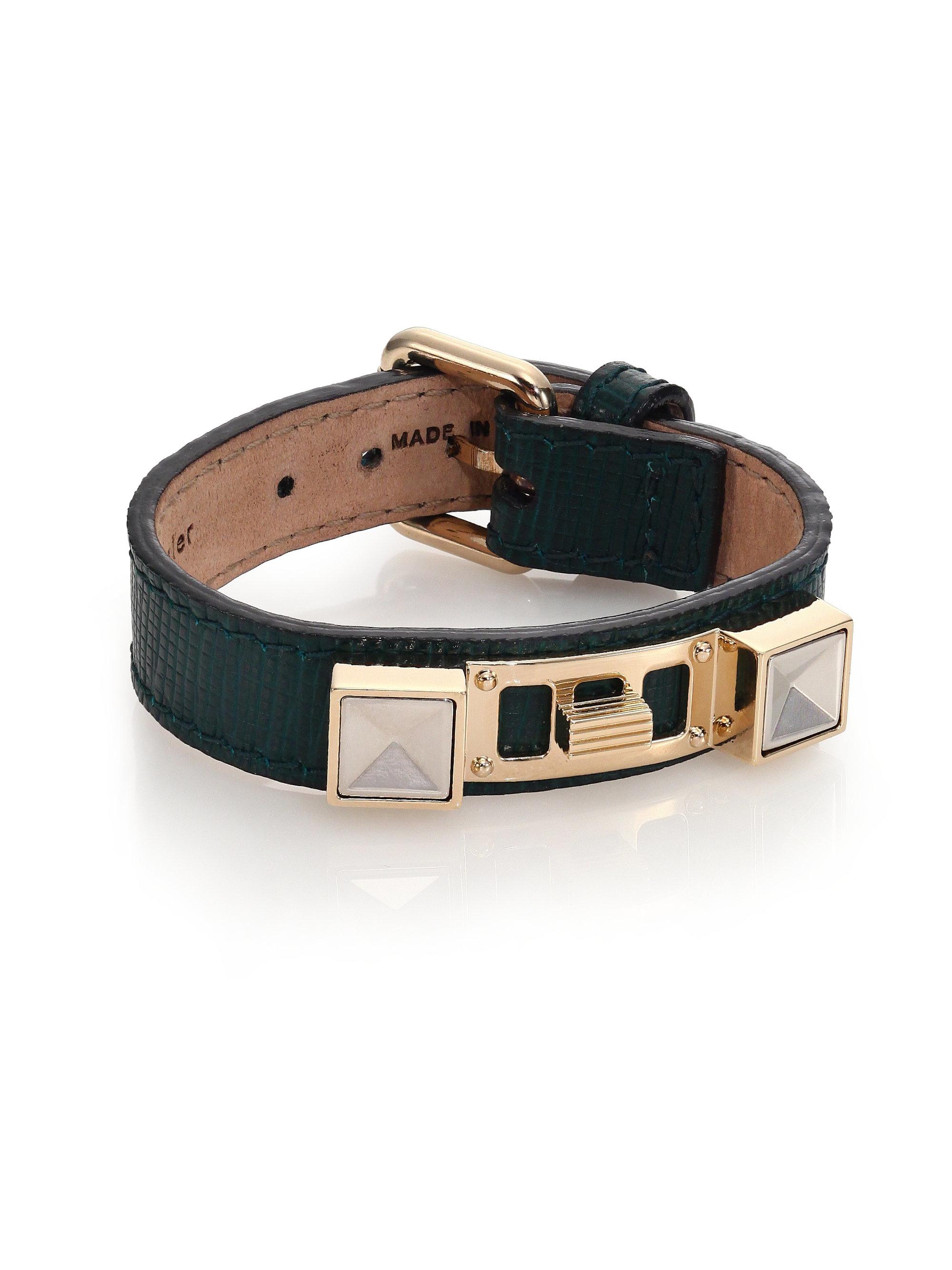 Proenza schouler Ps11 Small Linosa Leather Bracelet in ...