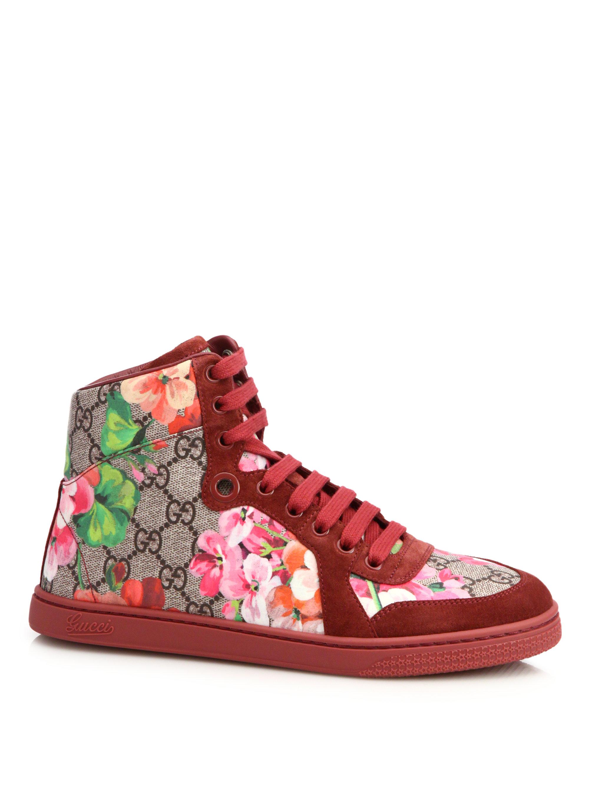 Gucci Floral Shoes Men