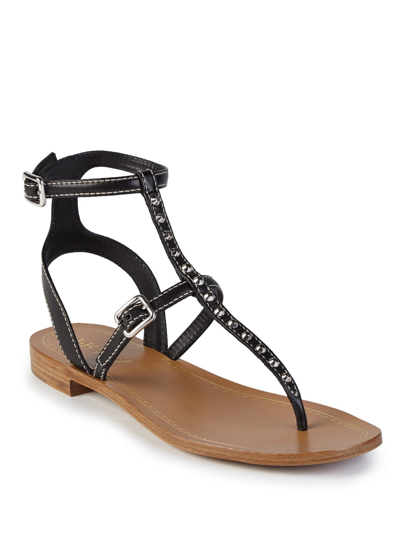 With Paypal Cheap Online Free Shipping Visit studded strap sandals - Black Prada Clearance Brand New Unisex Huge Surprise For Sale NNWFTn