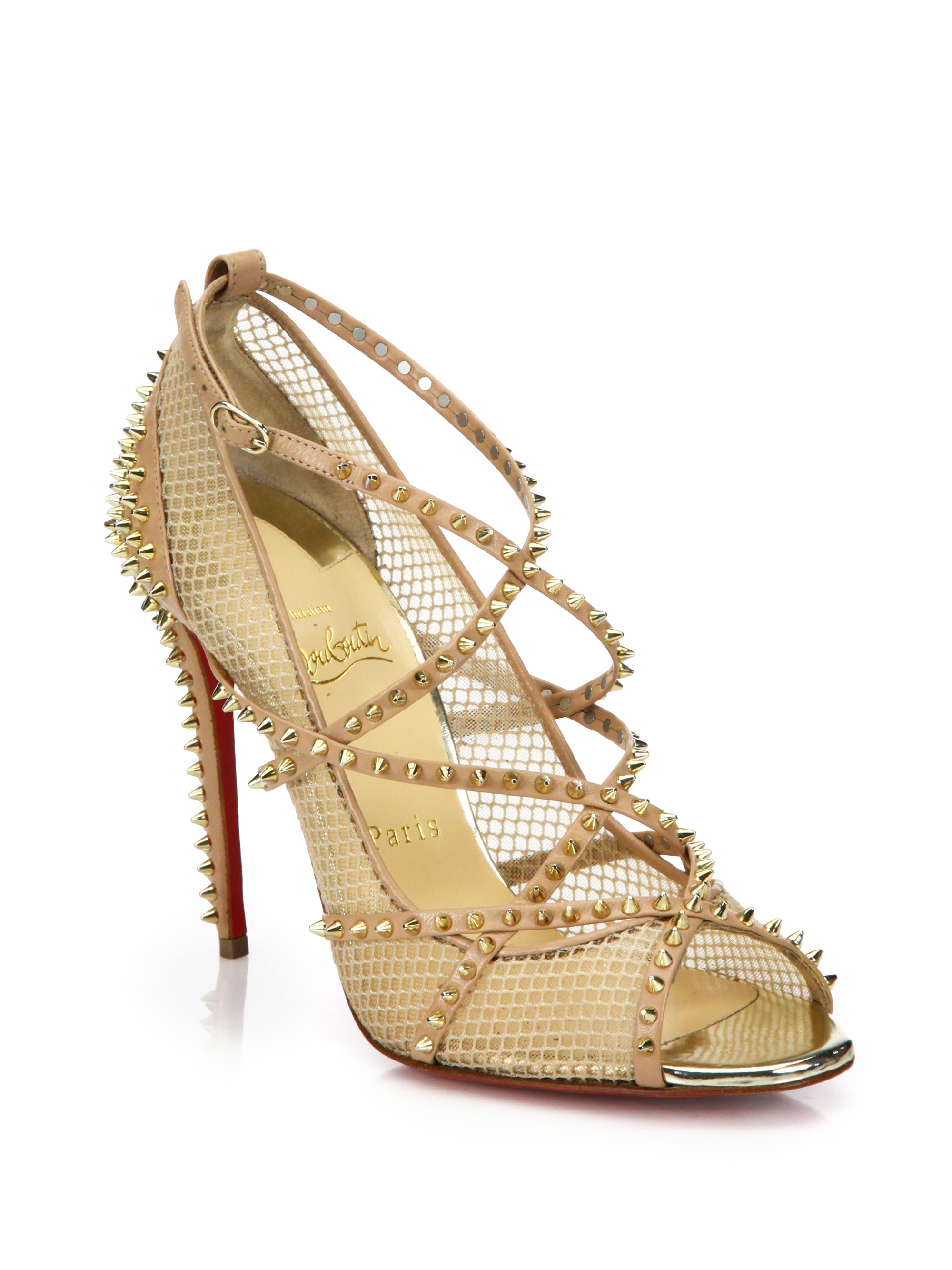 Gallery. Previously sold at: Saks Fifth Avenue � Women\u0027s Christian Louboutin  Spike