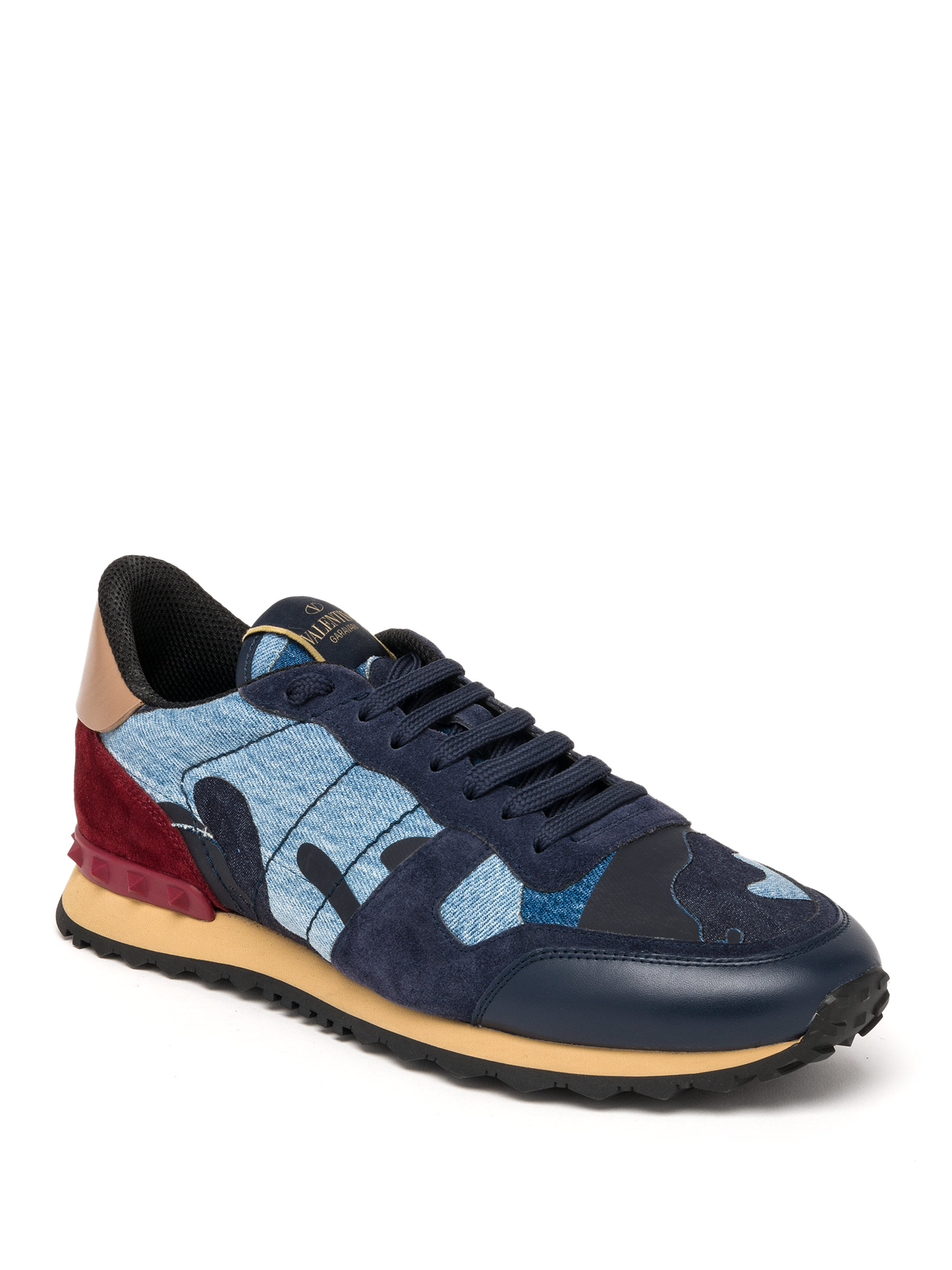 View Online Cheap Amazon Rockrunner camouflage sneakers - Blue Valentino Free Shipping Comfortable Excellent For Sale VTlagtw