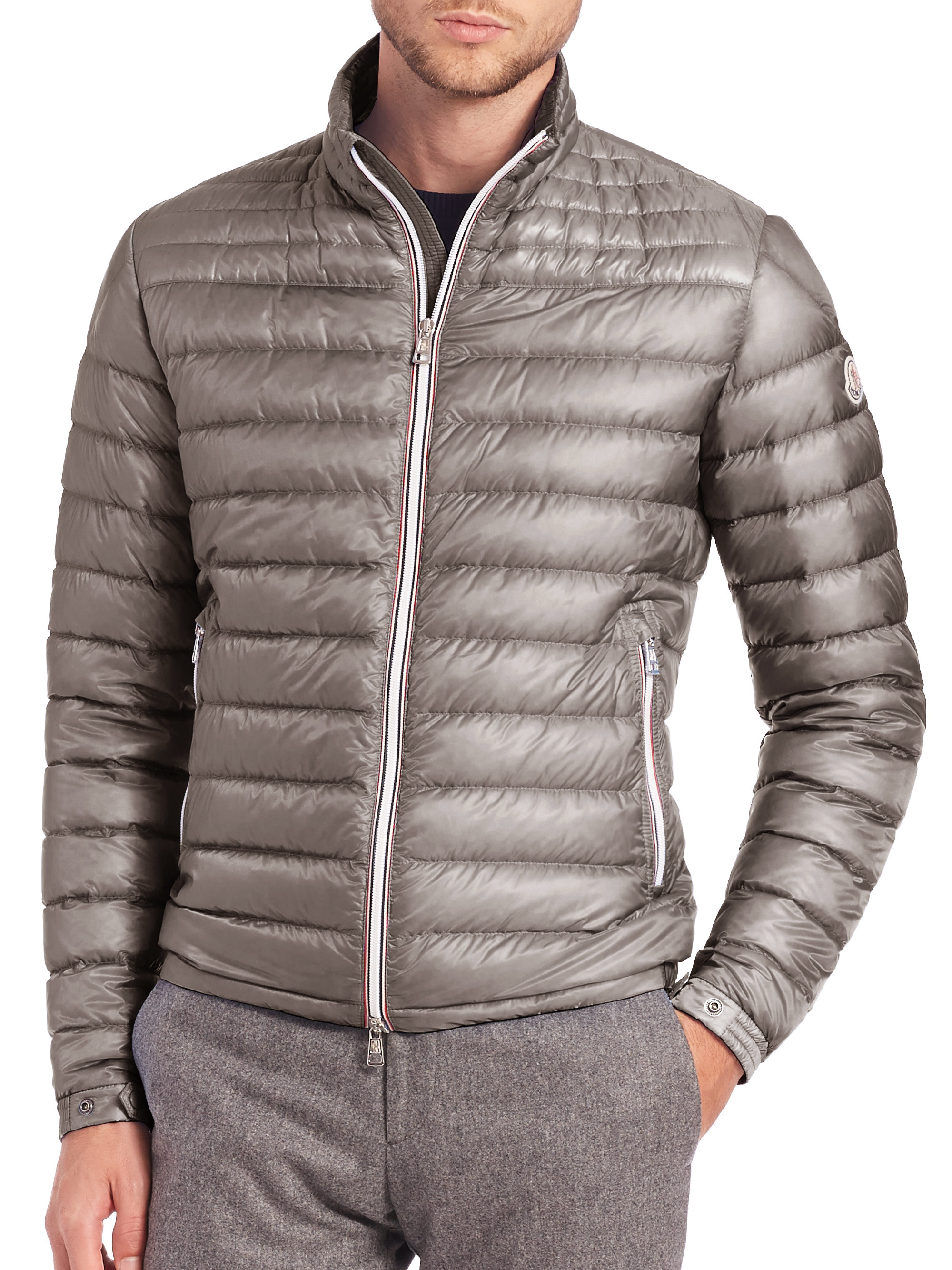Lyst Moncler Daniel Jacket In Gray For Men