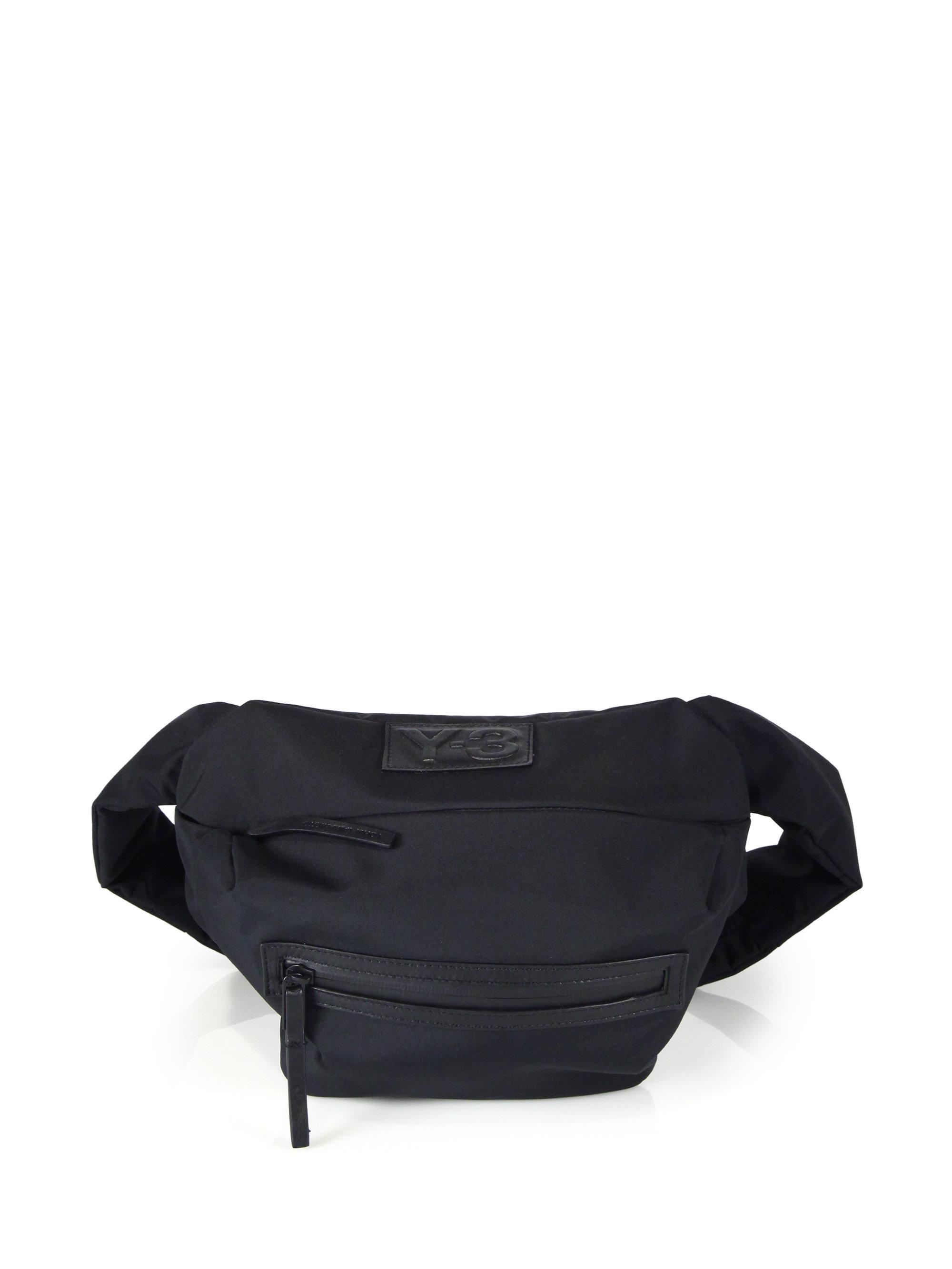 Lyst - Y-3 Qasa Bum Bag in Black for Men 27ce8c6013718