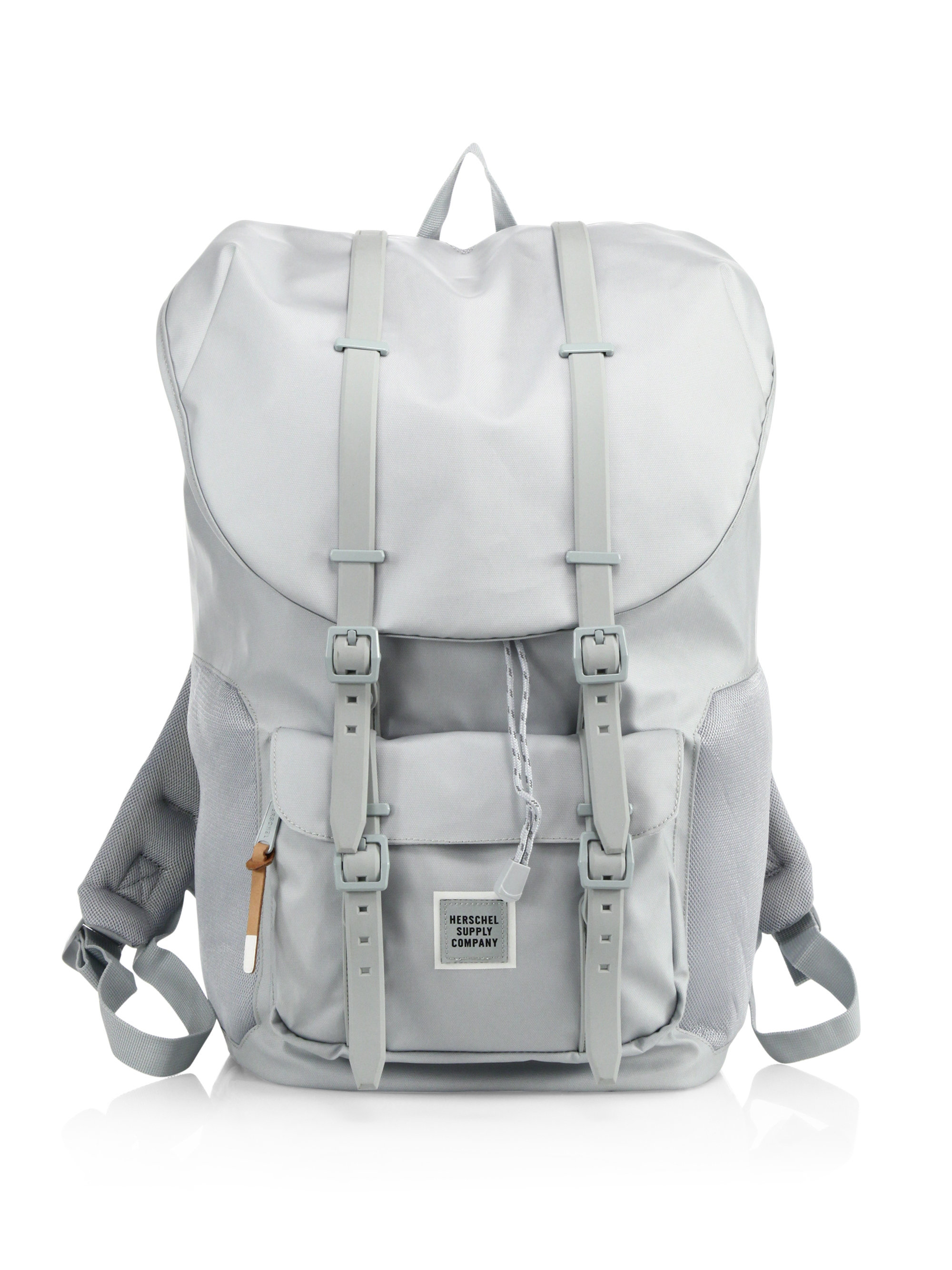 Lyst - Herschel Supply Co. Studio Polycoat Little America Backpack ... 79ee2cd8a3