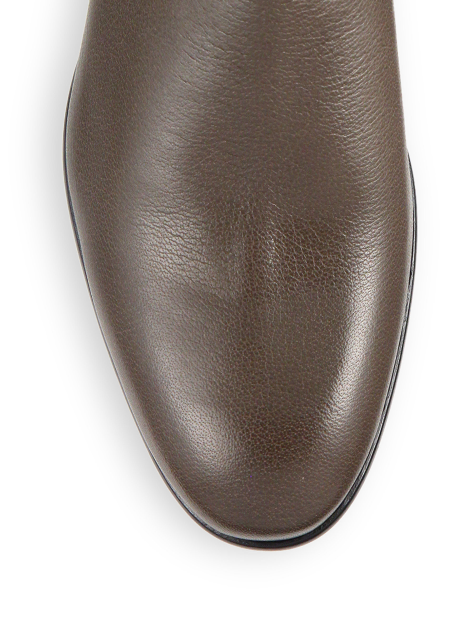 Maison Margiela Replica Water Buffalo Leather Ankle Boots