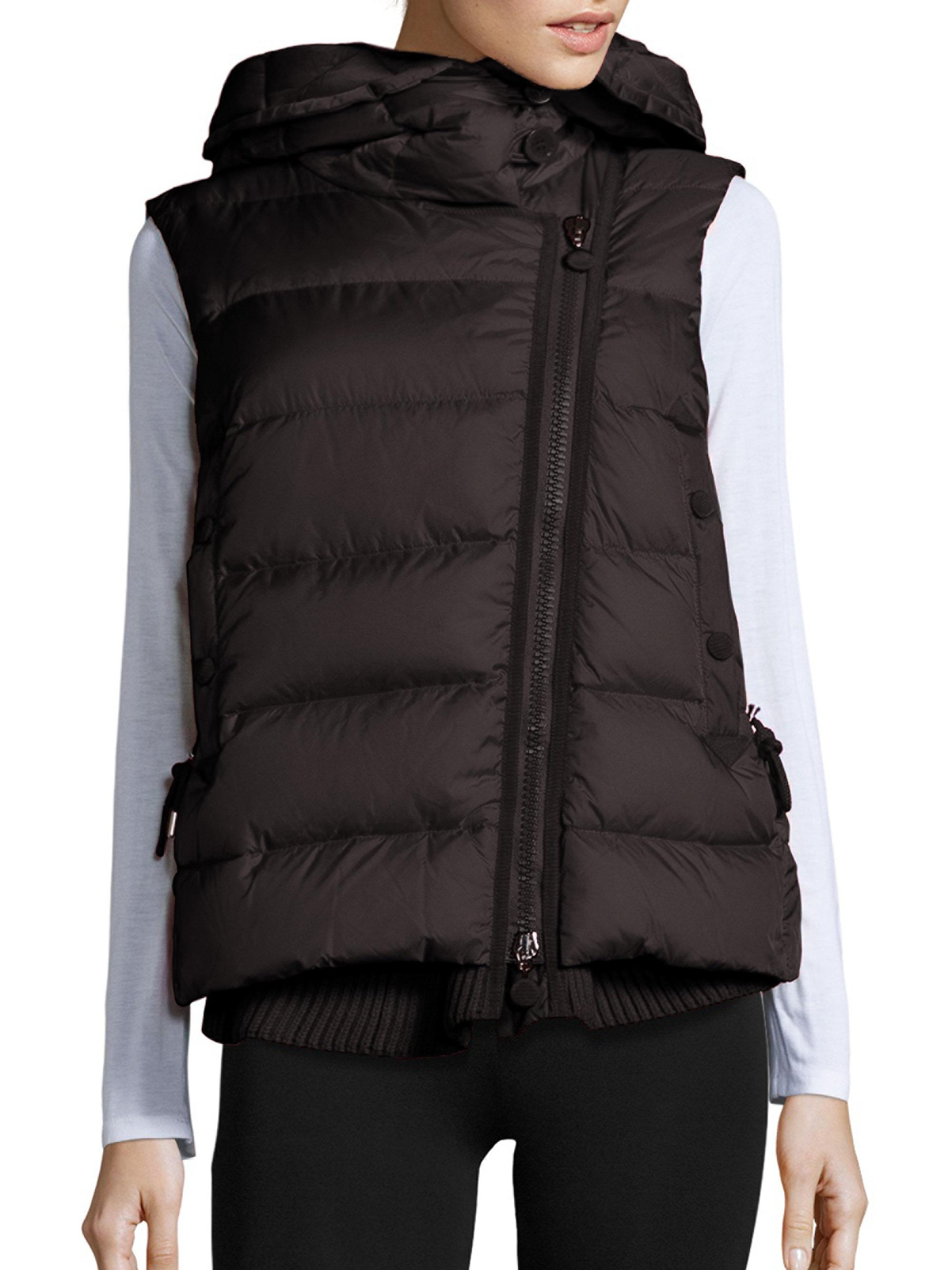 Lyst Moncler Laurie Puffer Vest In Black