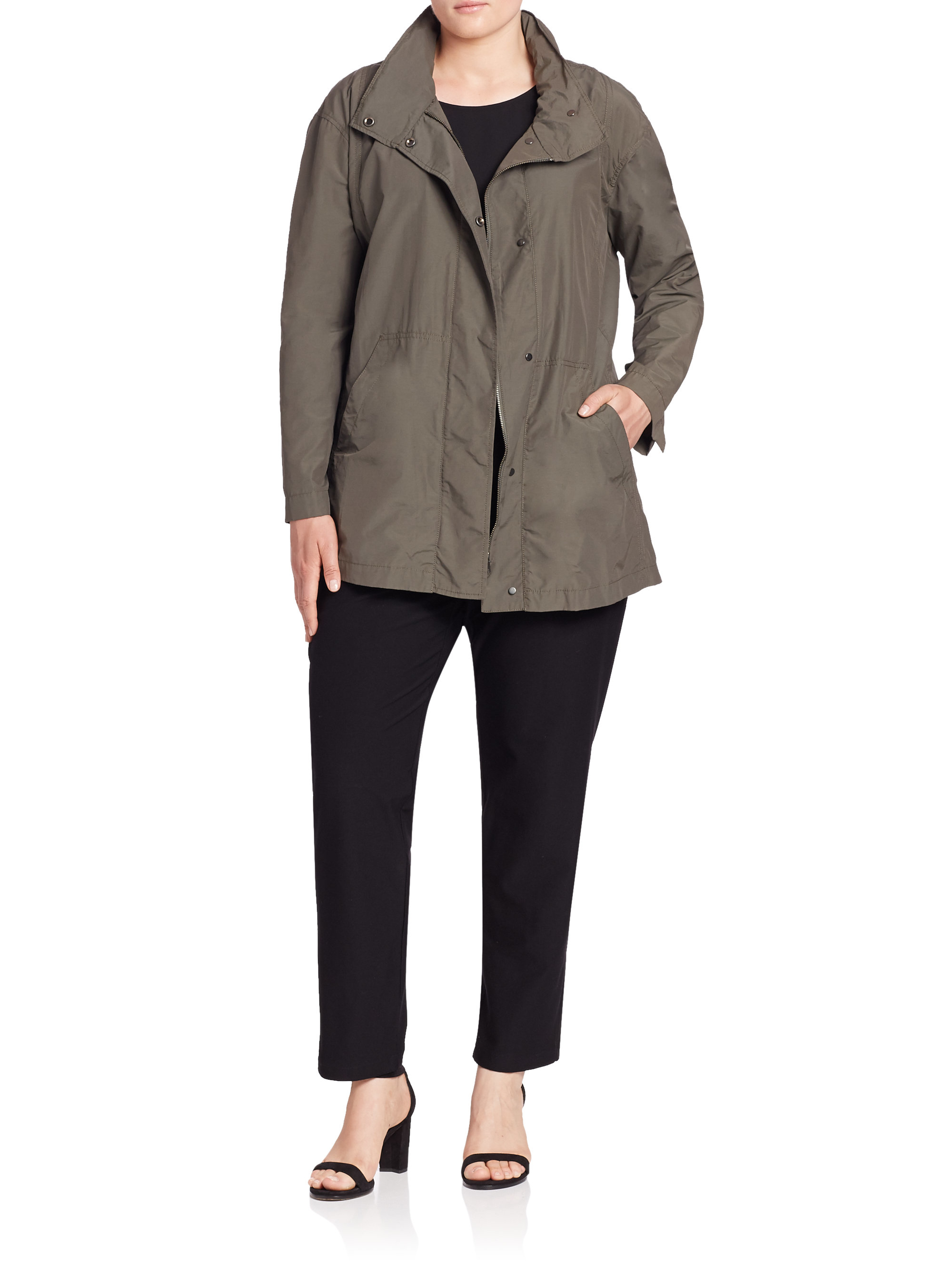 Tan North Face Jacket