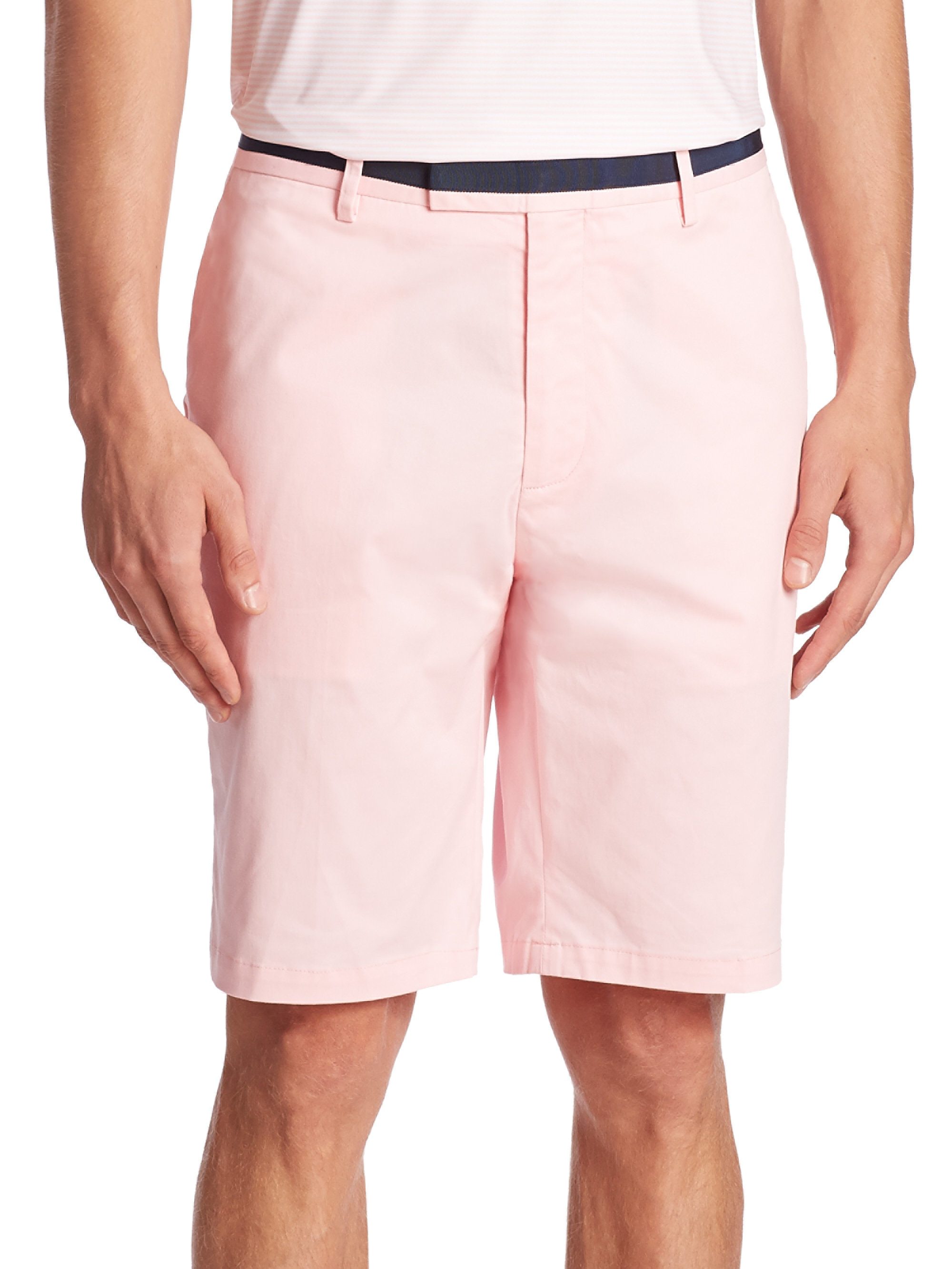 G Fore Contrast Waistband Shorts For Men Lyst