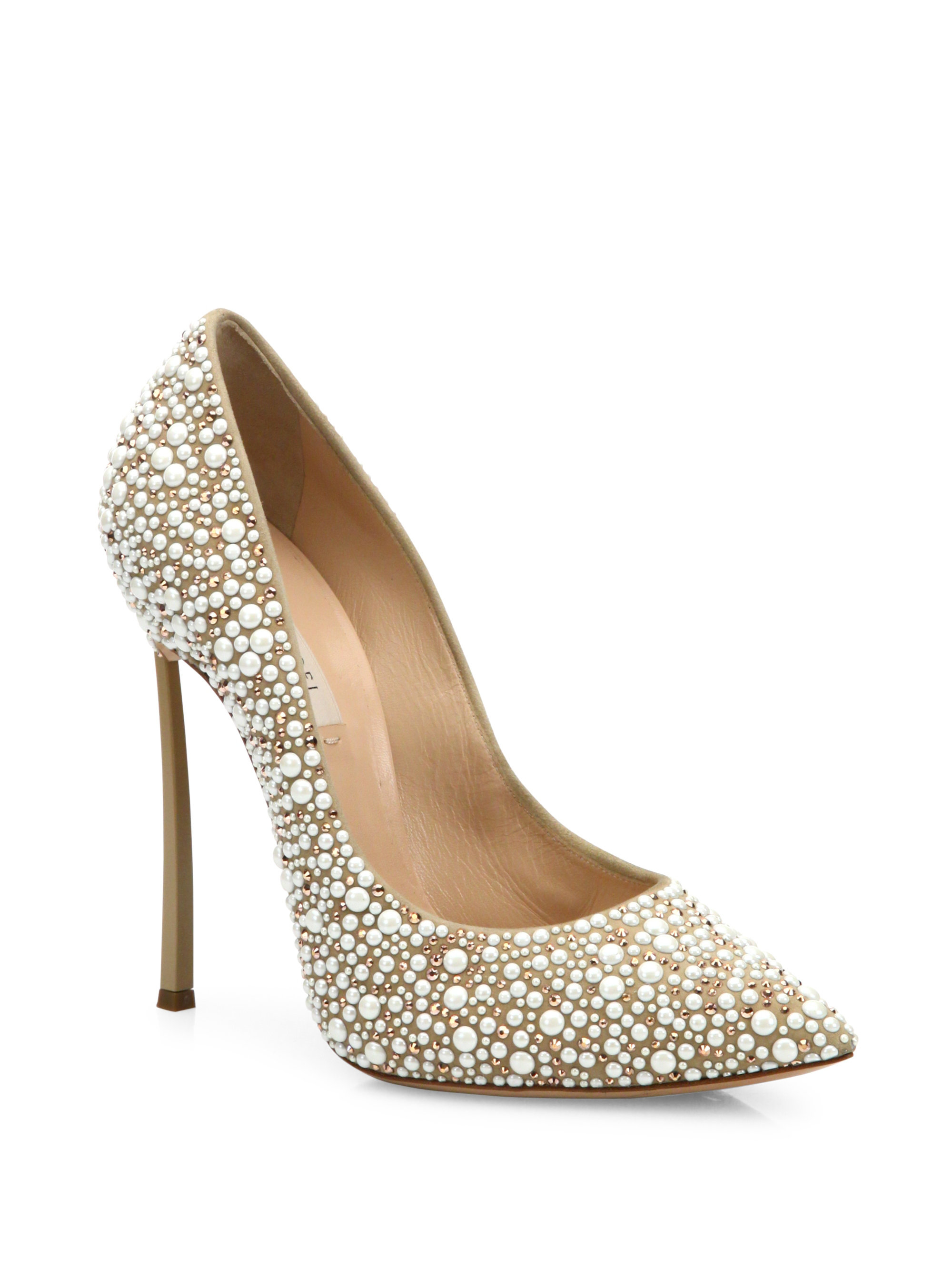 Casadei Embellished Pointed-Toe Pumps cheap sale new sale cheapest price sale sale online oDevA3042i
