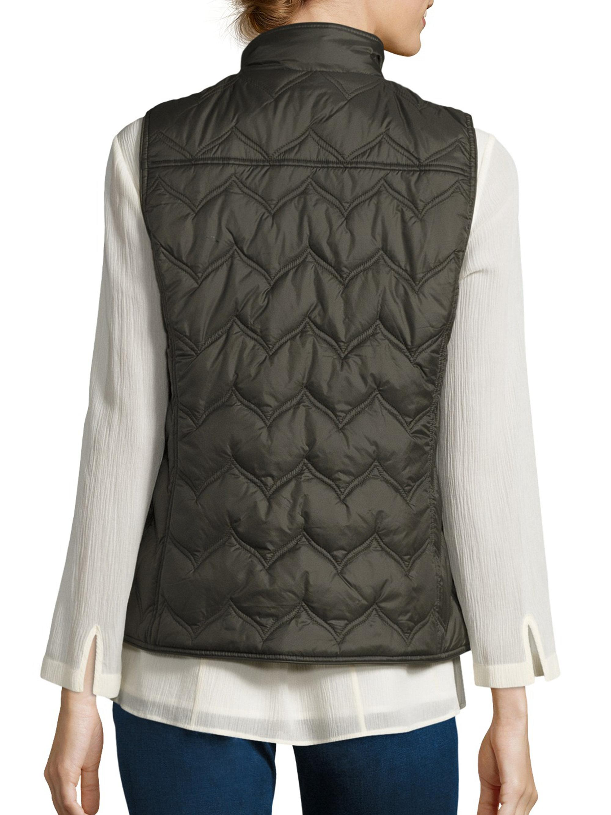 Lyst Vineyard Vines Whale Tail Chevron Quilted Vest In Green