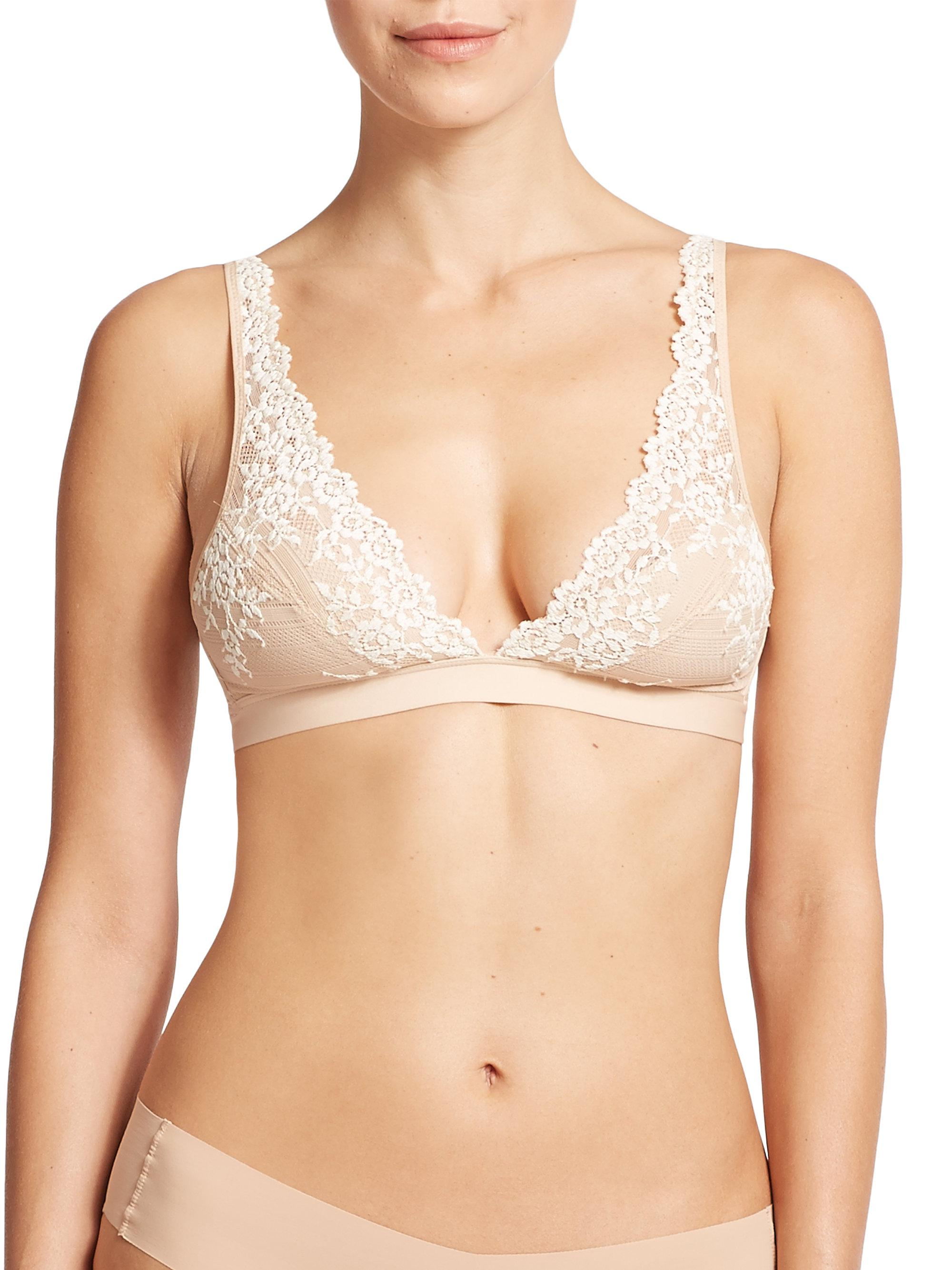 17fcd1222e Wacoal Embrace Lace Soft Cup Bra in Black - Save 91% - Lyst