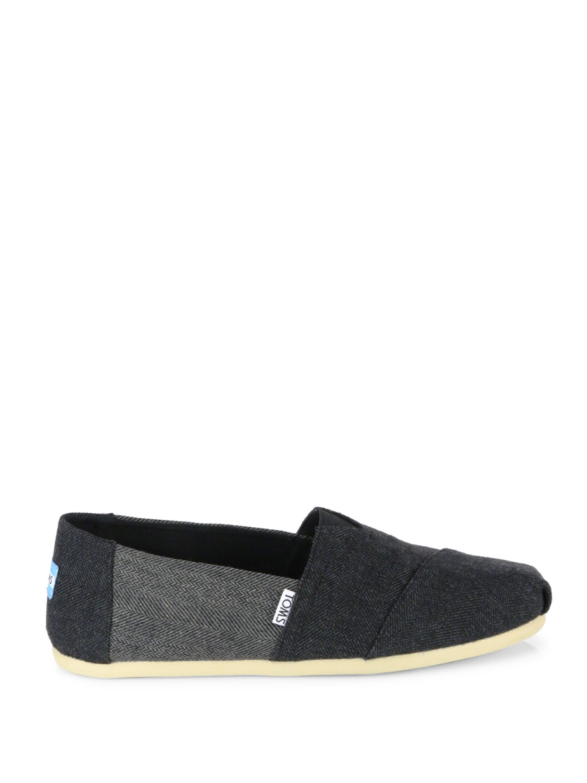 TOMS Alpargartas Deconstructed Wool Slip-On Sneakers rzIrpeY