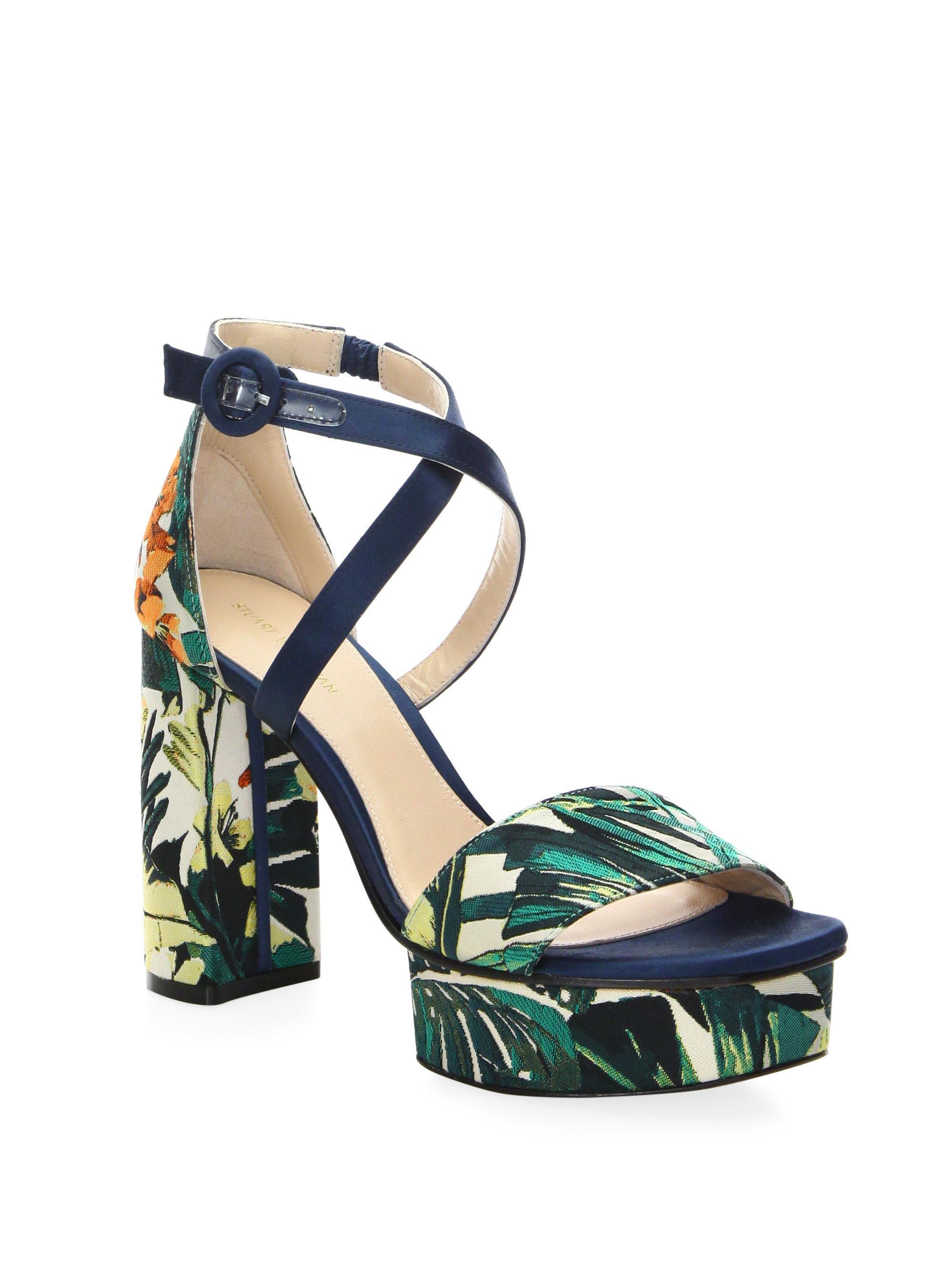Stuart Weitzman Carla Platform Sandals pRIir