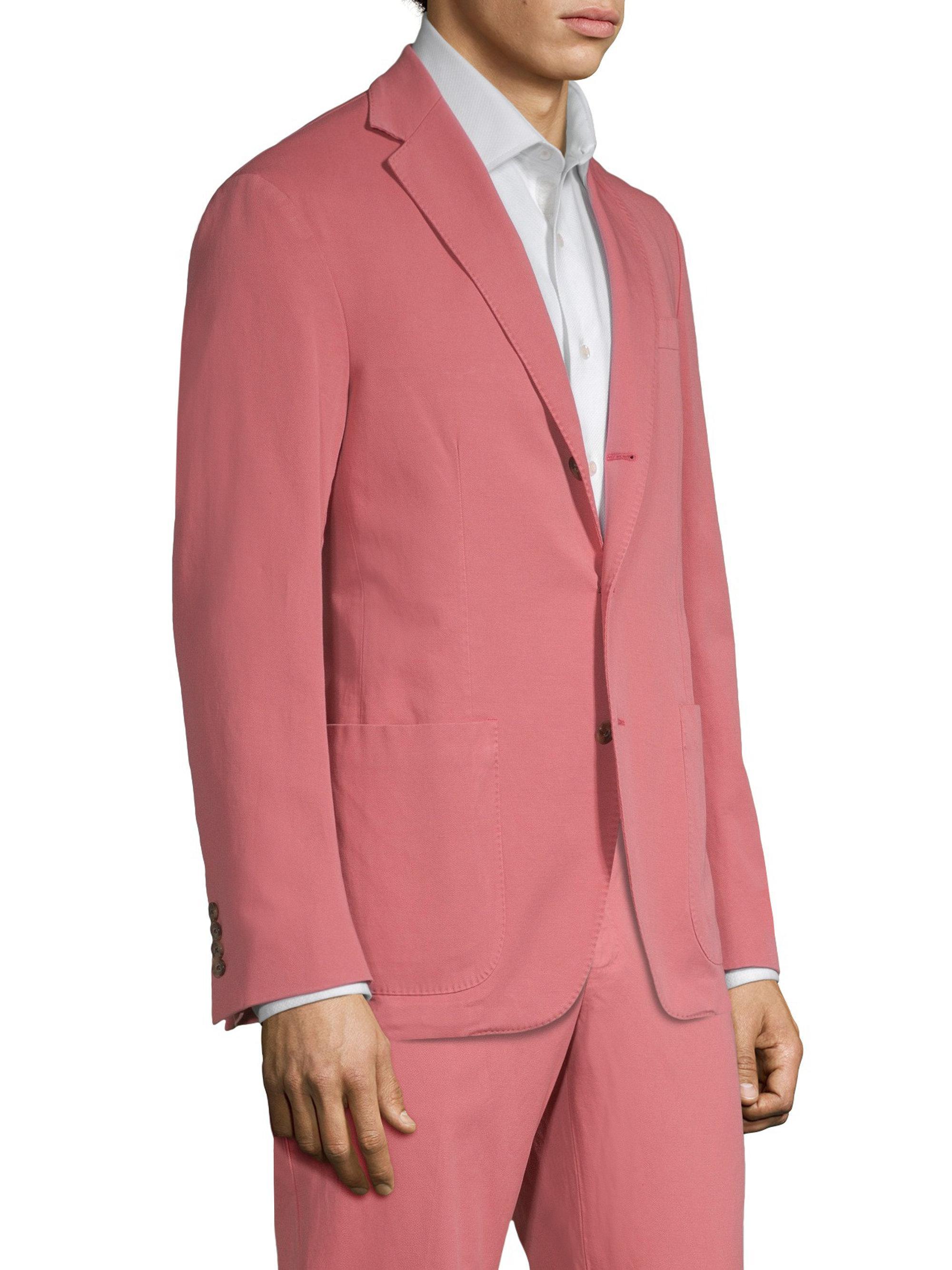 Men Red Fit Yale Blazer Ralph Polo Lyst Morgan For Slim Lauren In X8AqSv