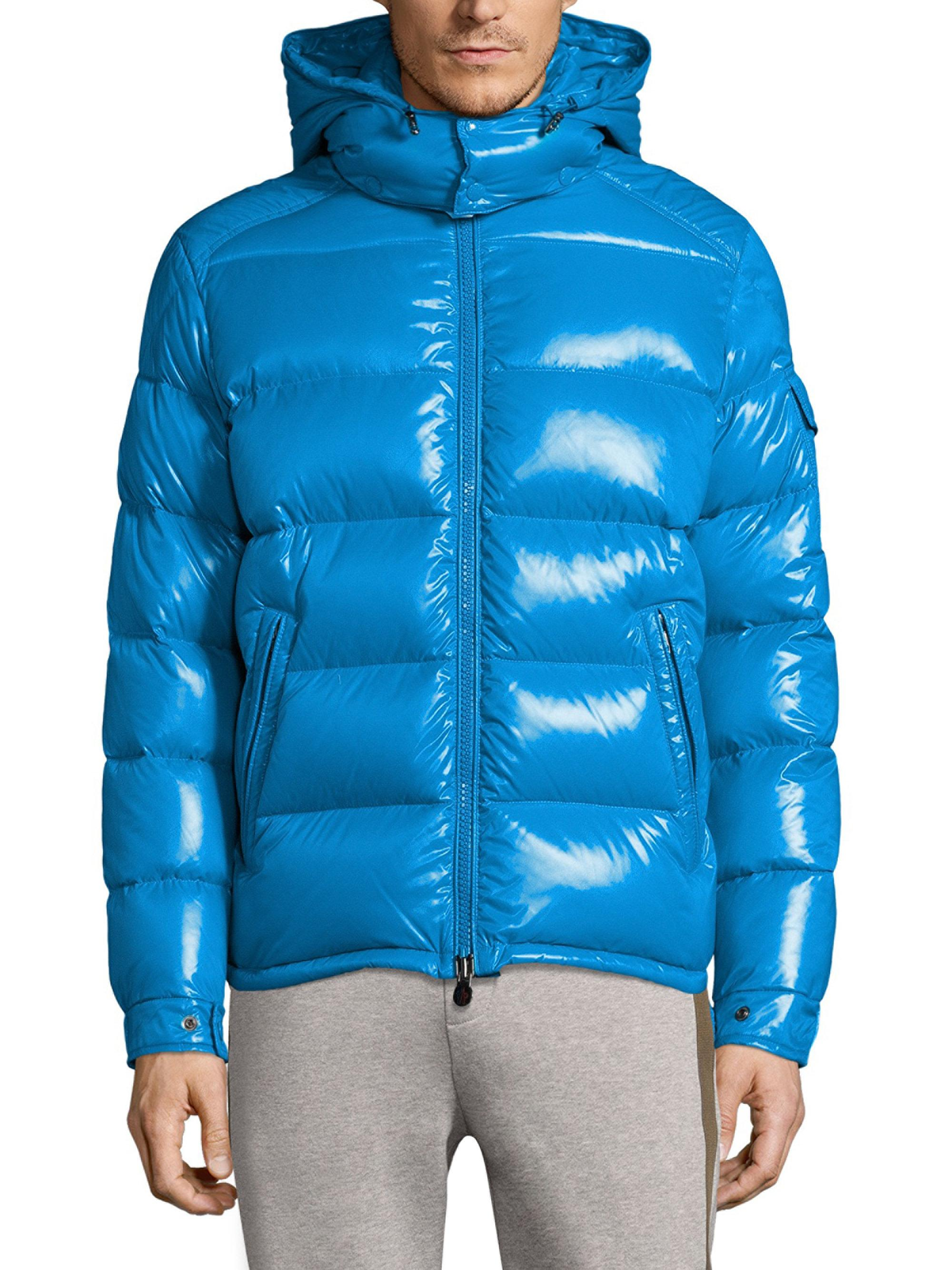 moncler baby blue jacket