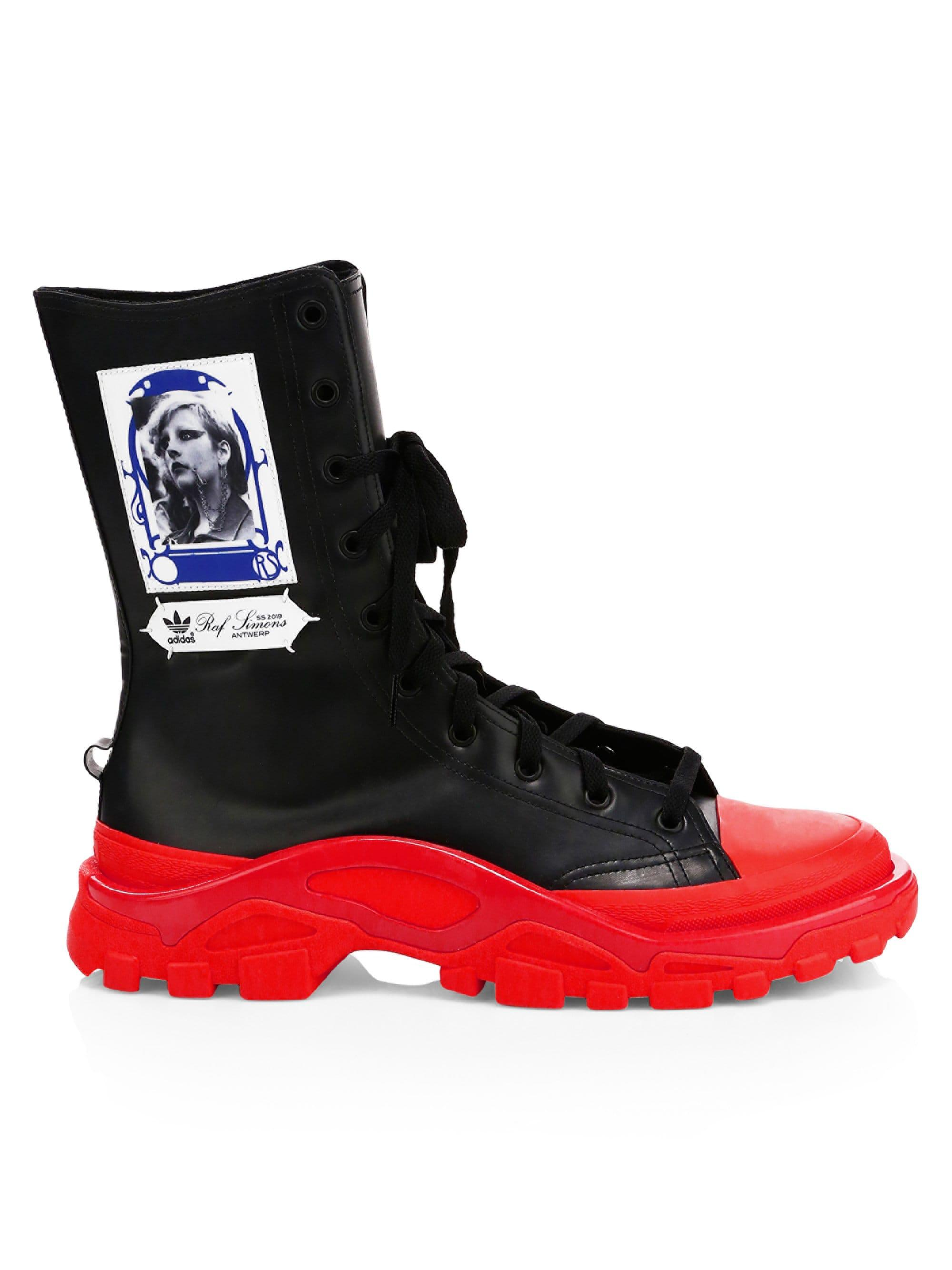 00a46ecb3e710c Lyst - adidas By Raf Simons Detroit High Boots in Black for Men