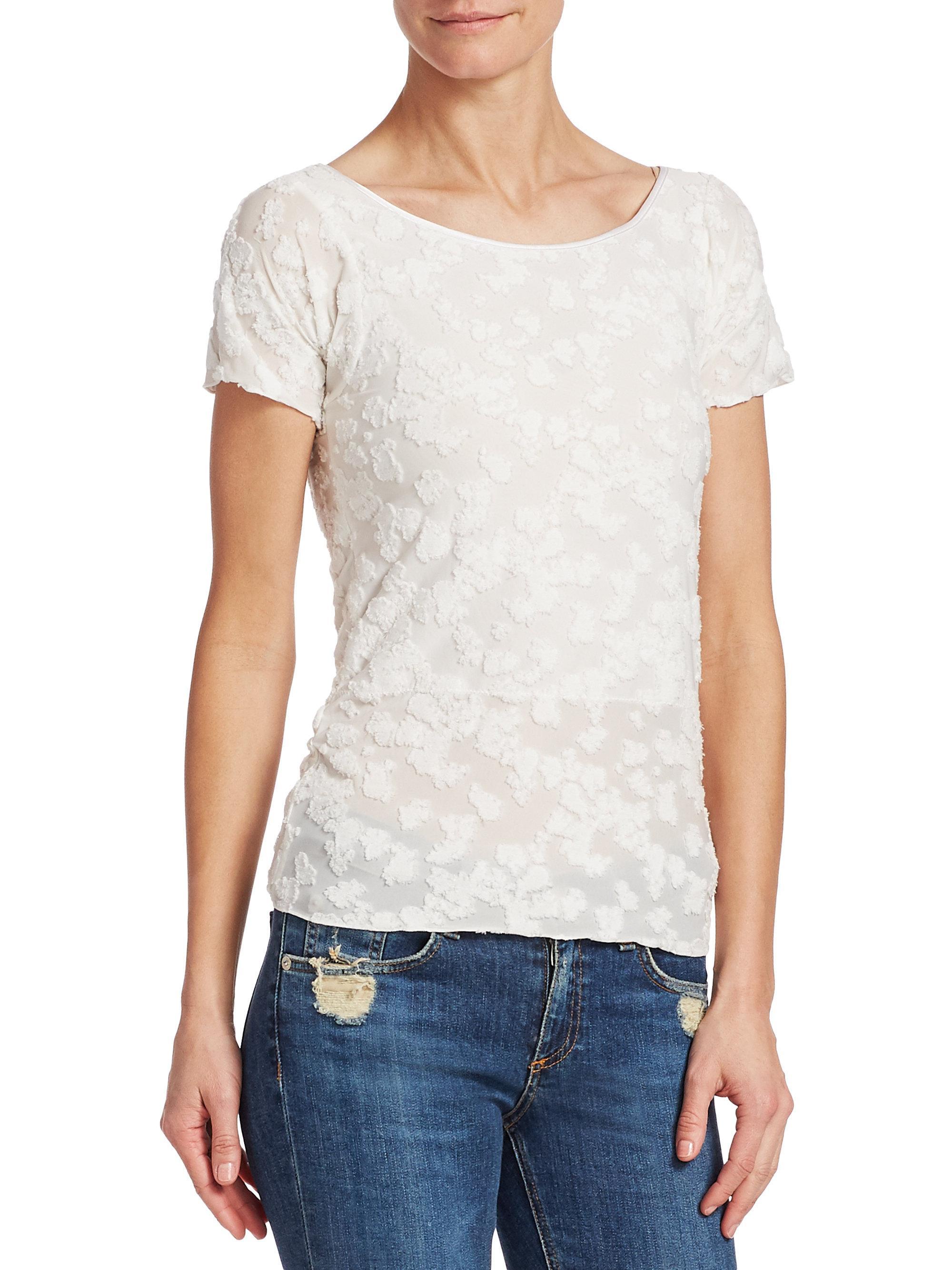 Rag & Bone Woman Cotton-blend Lace Top White Size M Rag & Bone Marketable Cheap Online Discounts Cheap Price Pay With Paypal Cheap Price Cheap Official Outlet 2018 S3C27Q