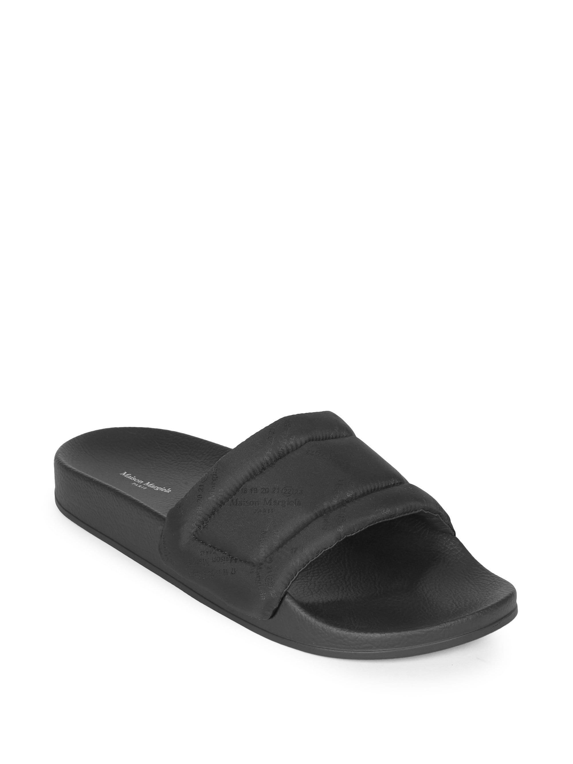 3ffae9d341202 ... Men s Future Logo Rubber Slides - Black - Size 45 (12). View fullscreen