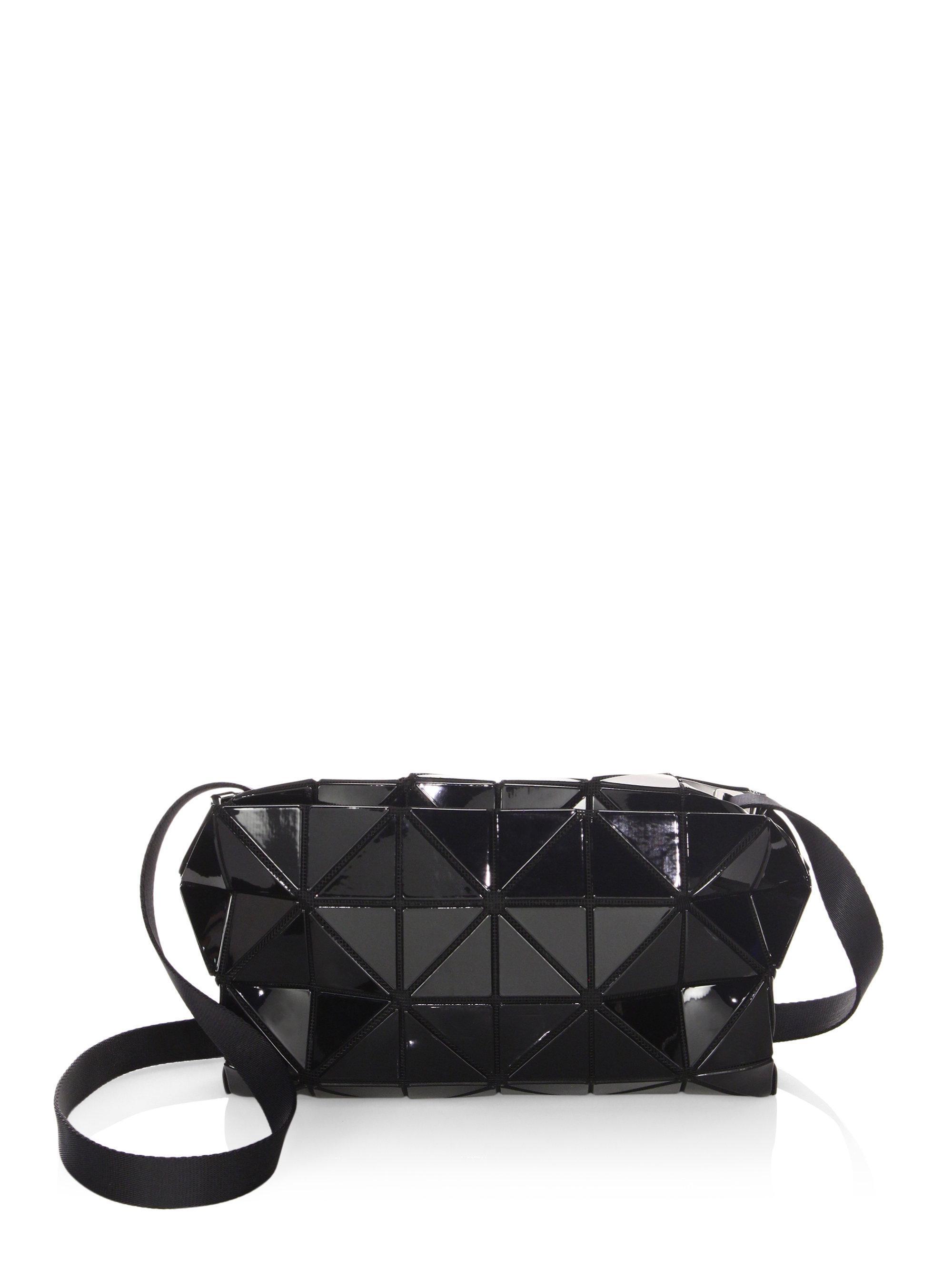 Bao Bao Issey Miyake Women s Carton Crossbody Bag - Black in Black ... 5f73b1178dd60