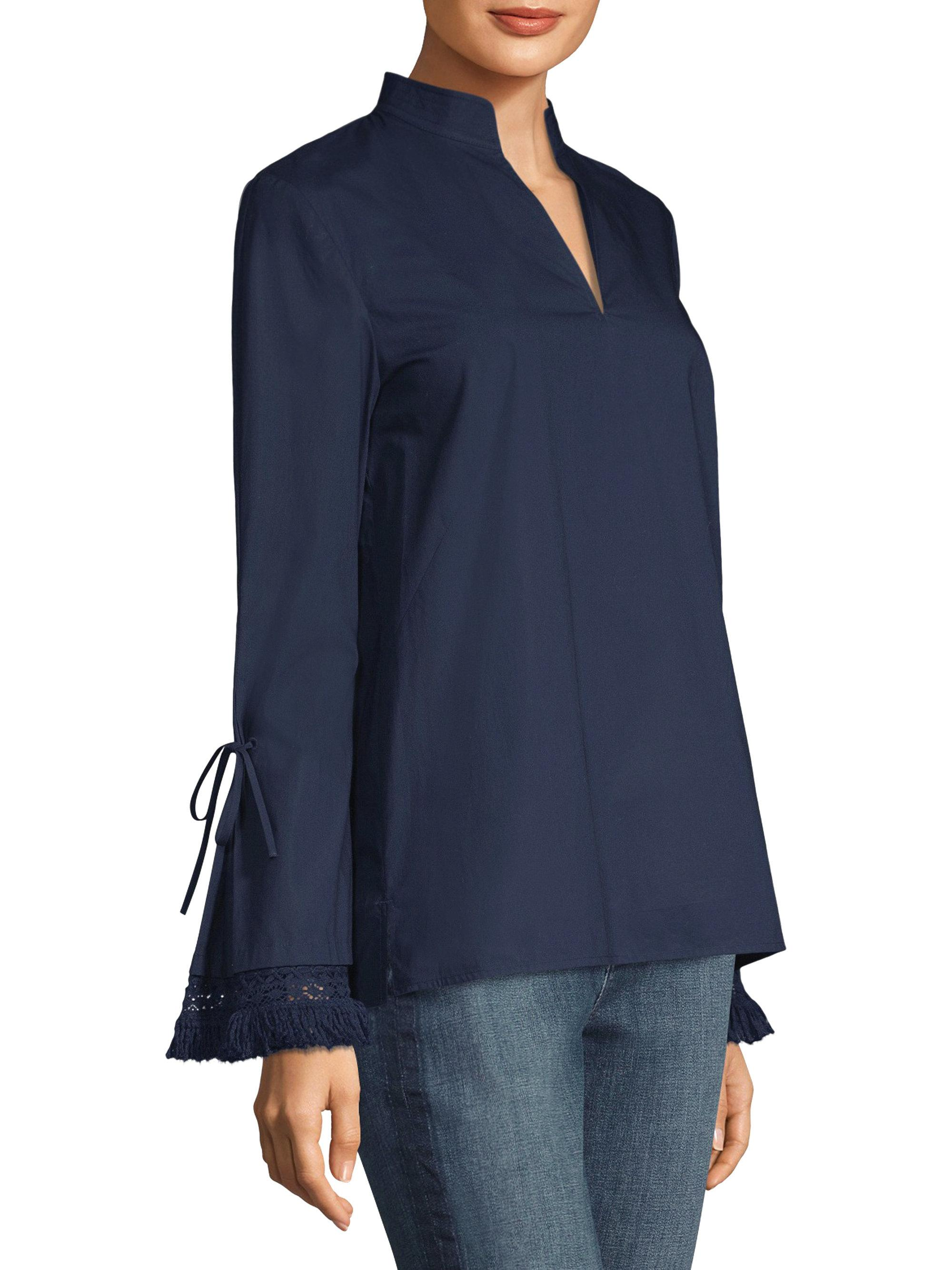Sophie cotton top Tory Burch 2018 Cheap Sale Clearance 100% Guaranteed Outlet Shopping Online u2Xbm9mxm
