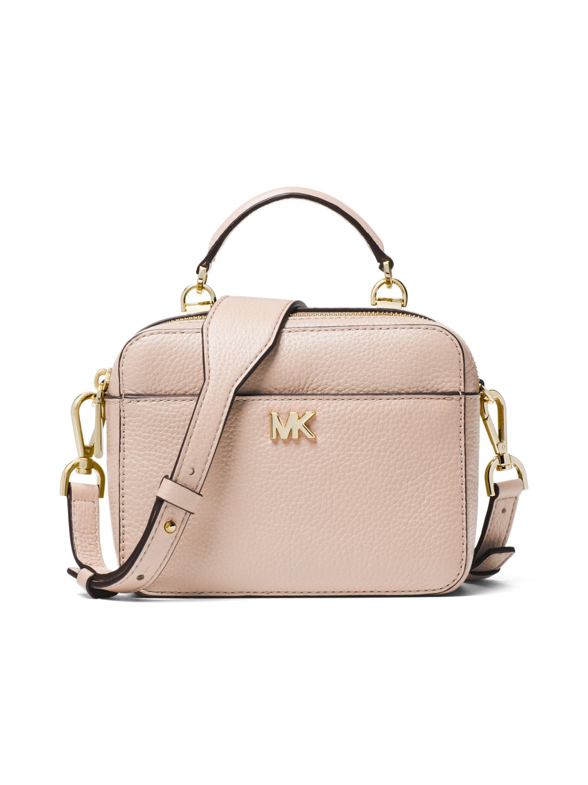 a0857b4a72f8 Lyst - MICHAEL Michael Kors Women s Mott Mini Pebbled Leather ...