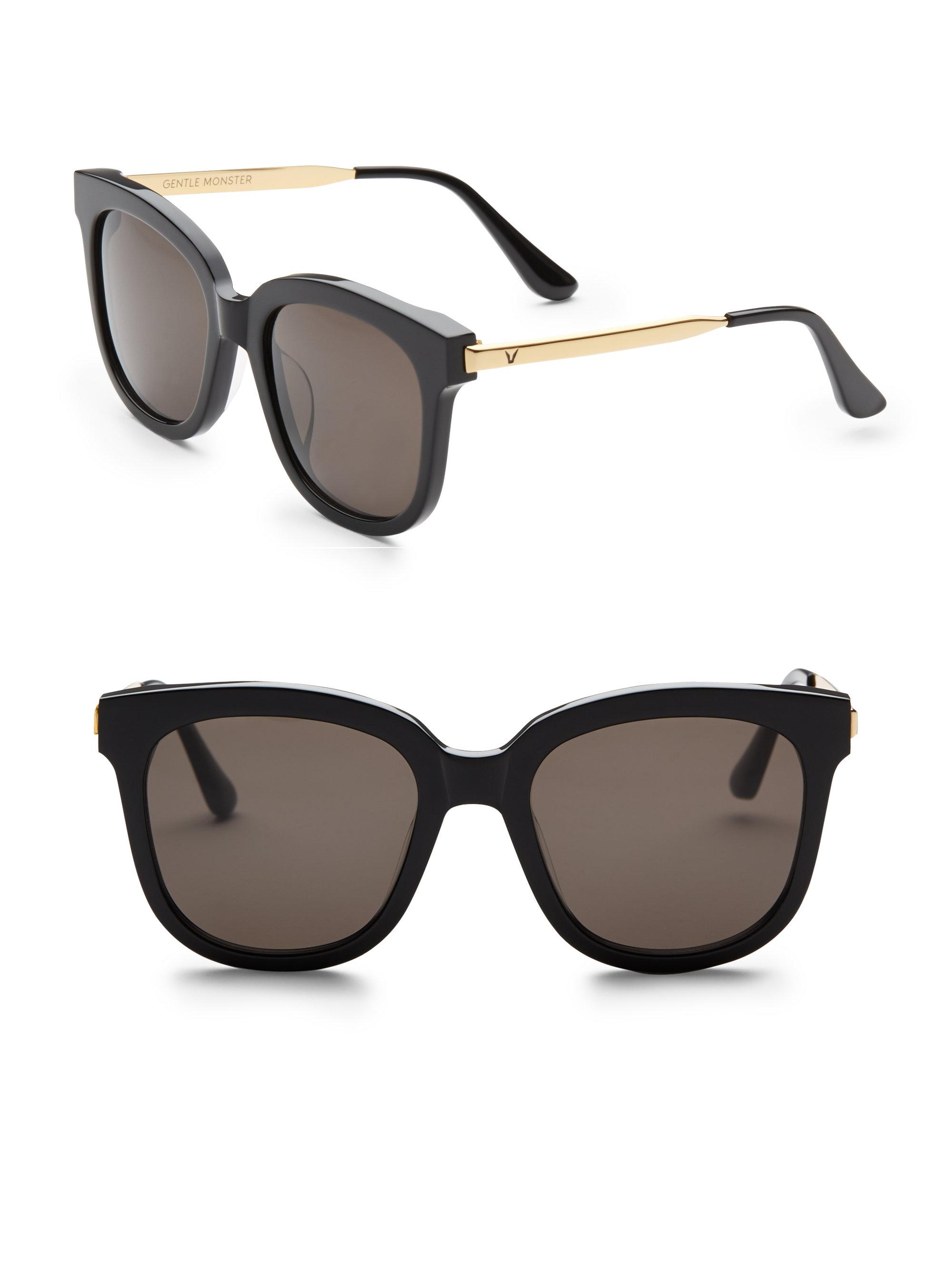 81f6b3203b Lyst - Gentle Monster Absente 54mm Oversize Sunglasses in Black