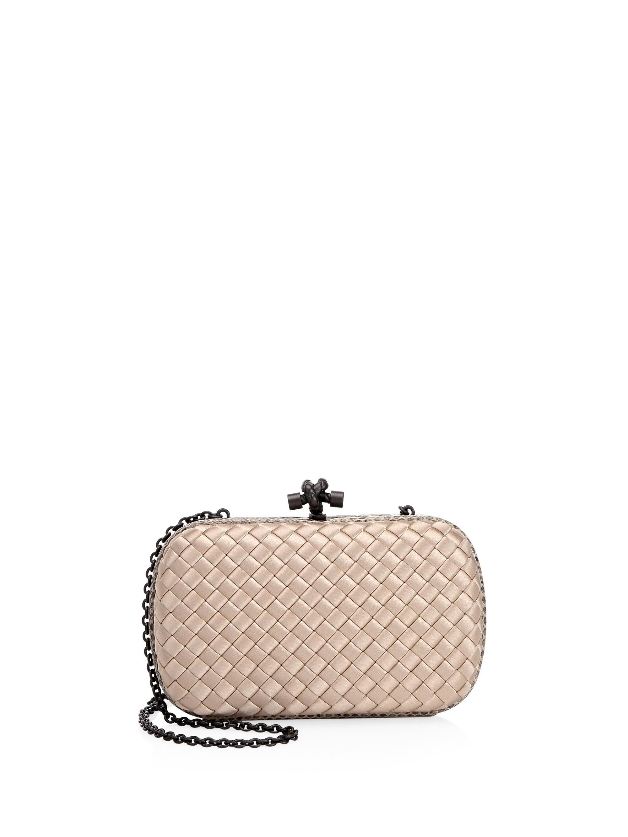 90f200bc6826 Bottega Veneta Knot Clutch Bag - Lyst