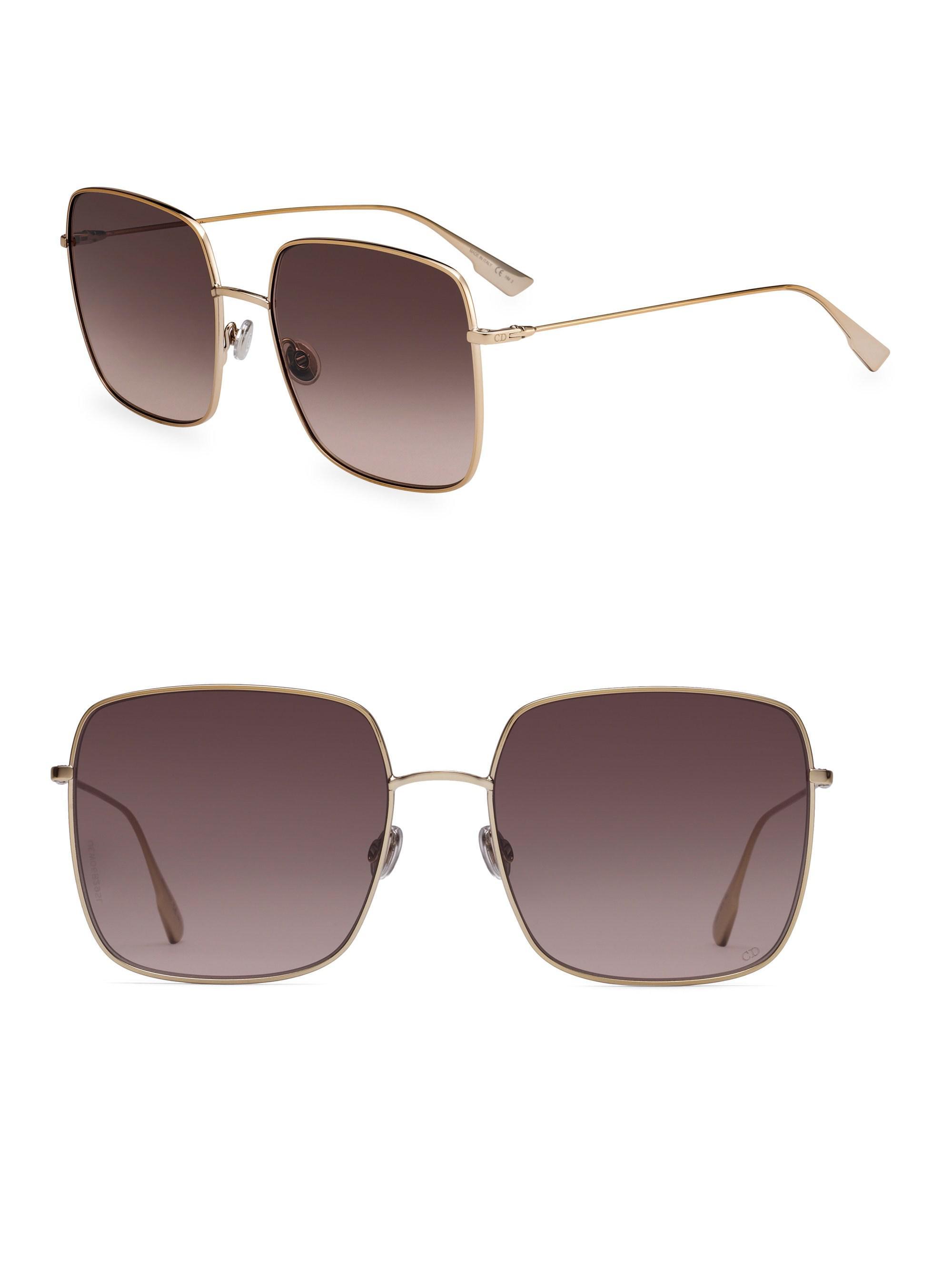 142196ccb2 Dior. Women s Stellaire1 59mm Square Sunglasses