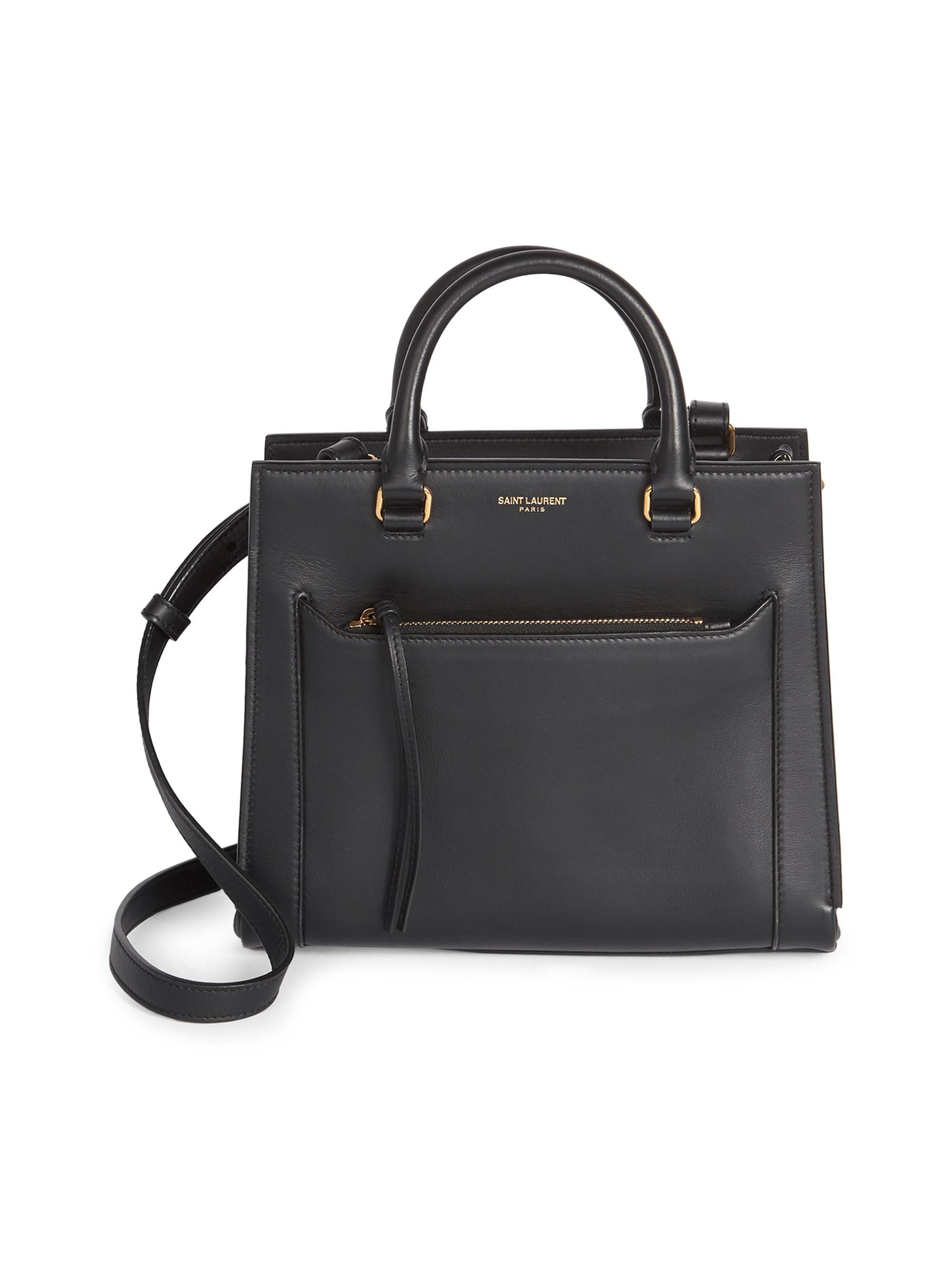 d1fee05f111d Lyst - Saint Laurent Women s Baby East Side Cabas Top Handle Bag ...