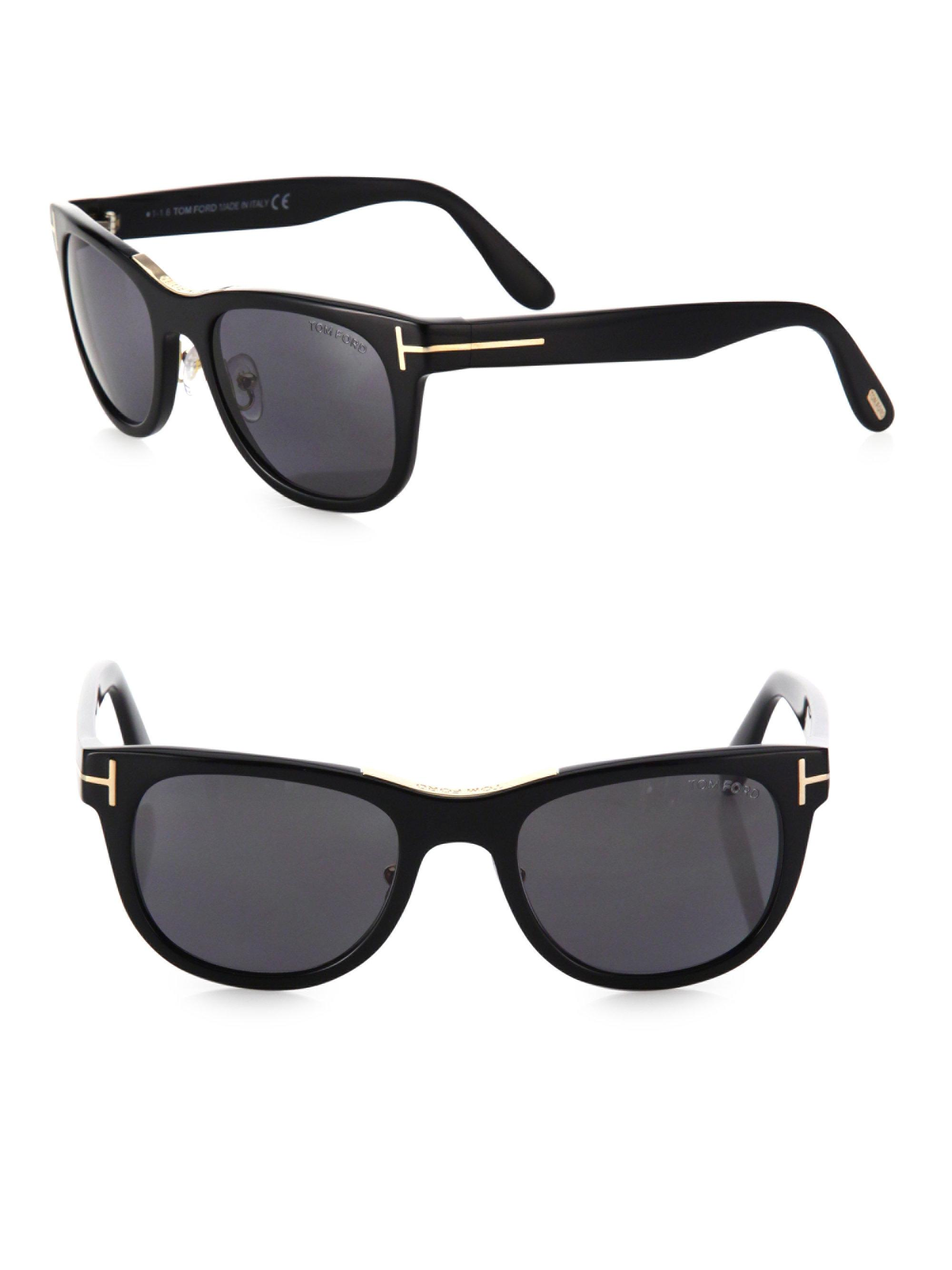 2087c70e8ab8 Lyst - Tom Ford Jack 51mm Polarized Sunglasses in Black for Men