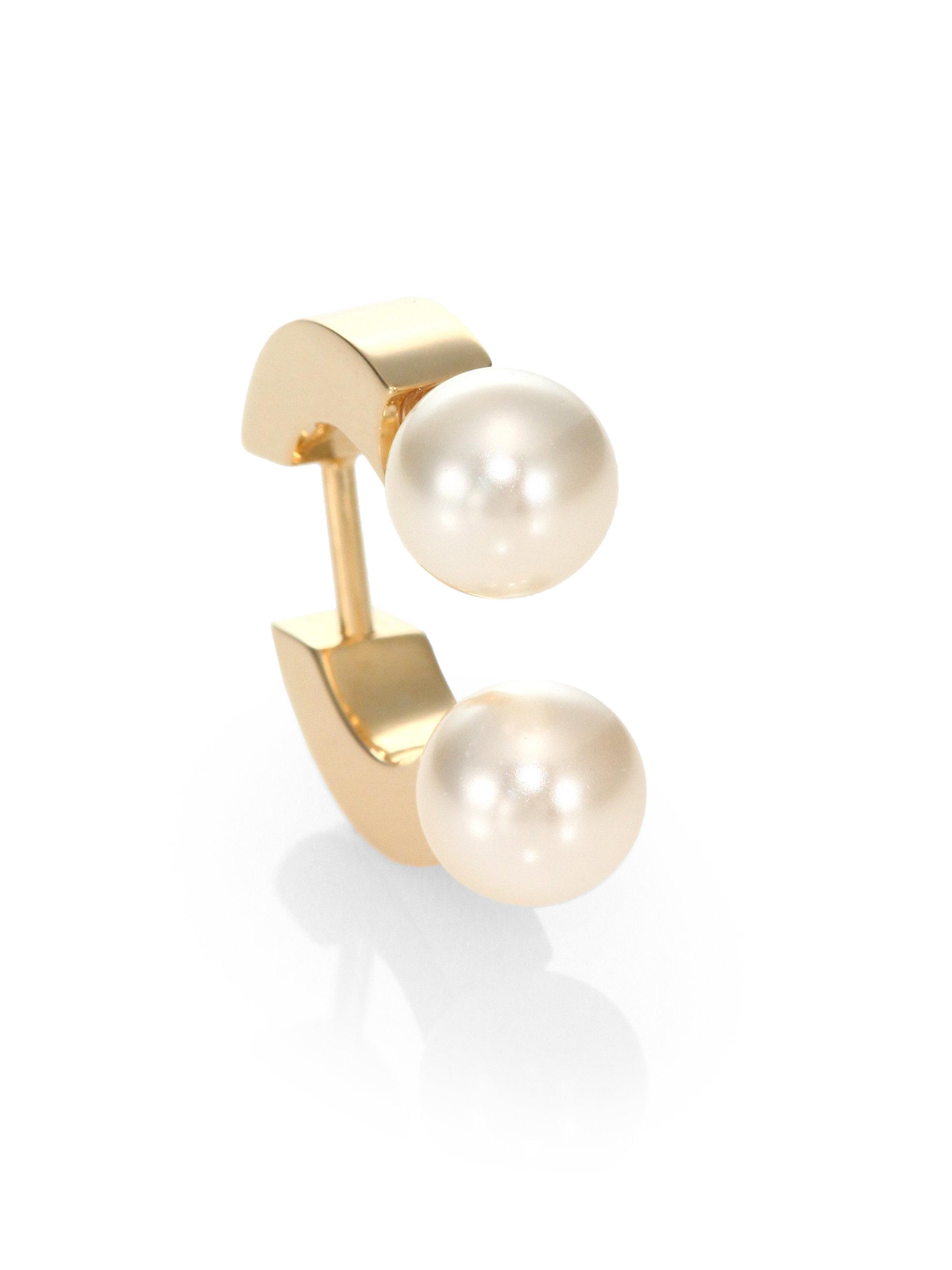 products london in wade gold model stud single vermeil by earrings cuff jewellery ear rocka louise
