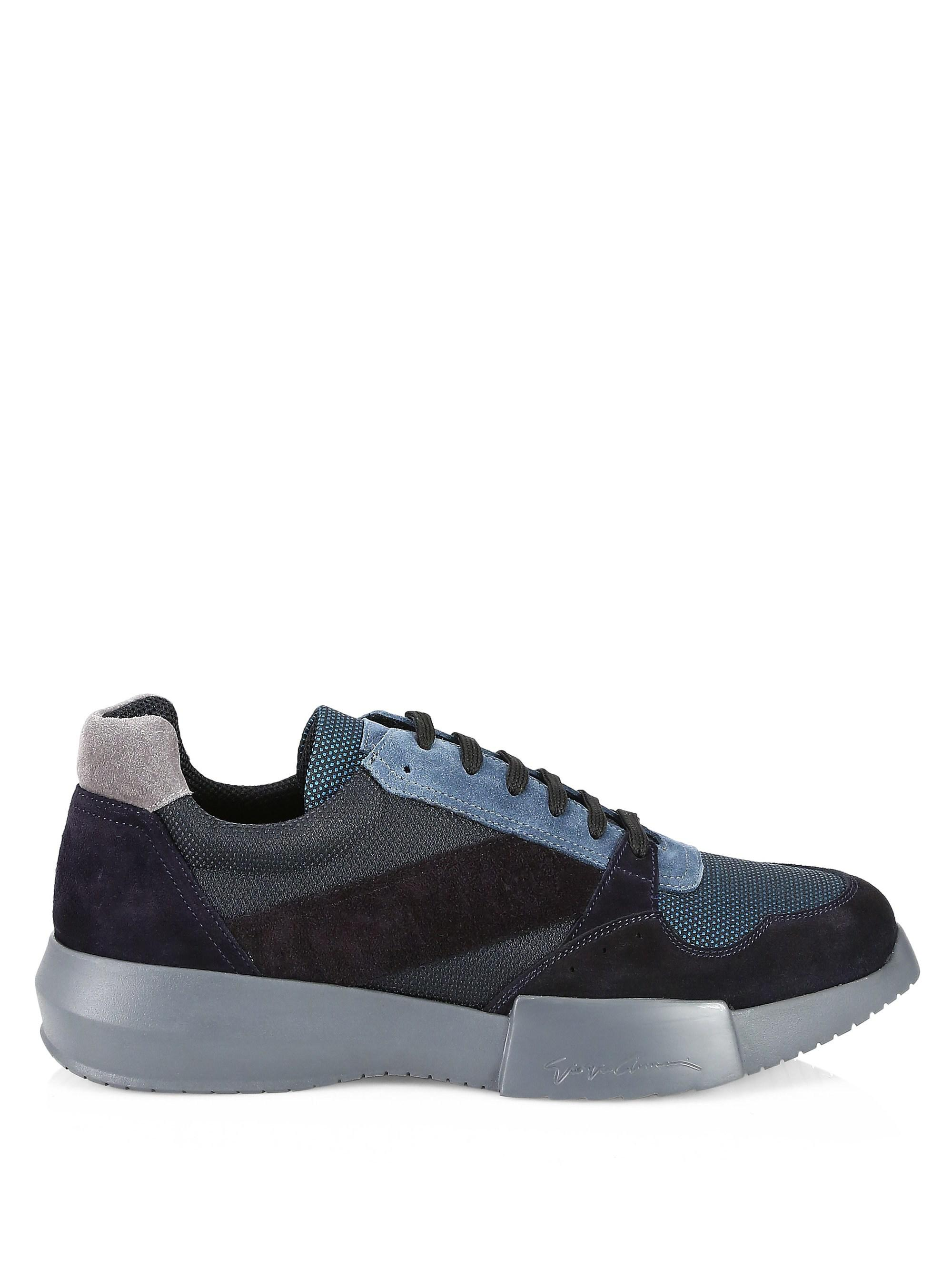 Armani Patchwork Sneakers RXlep9