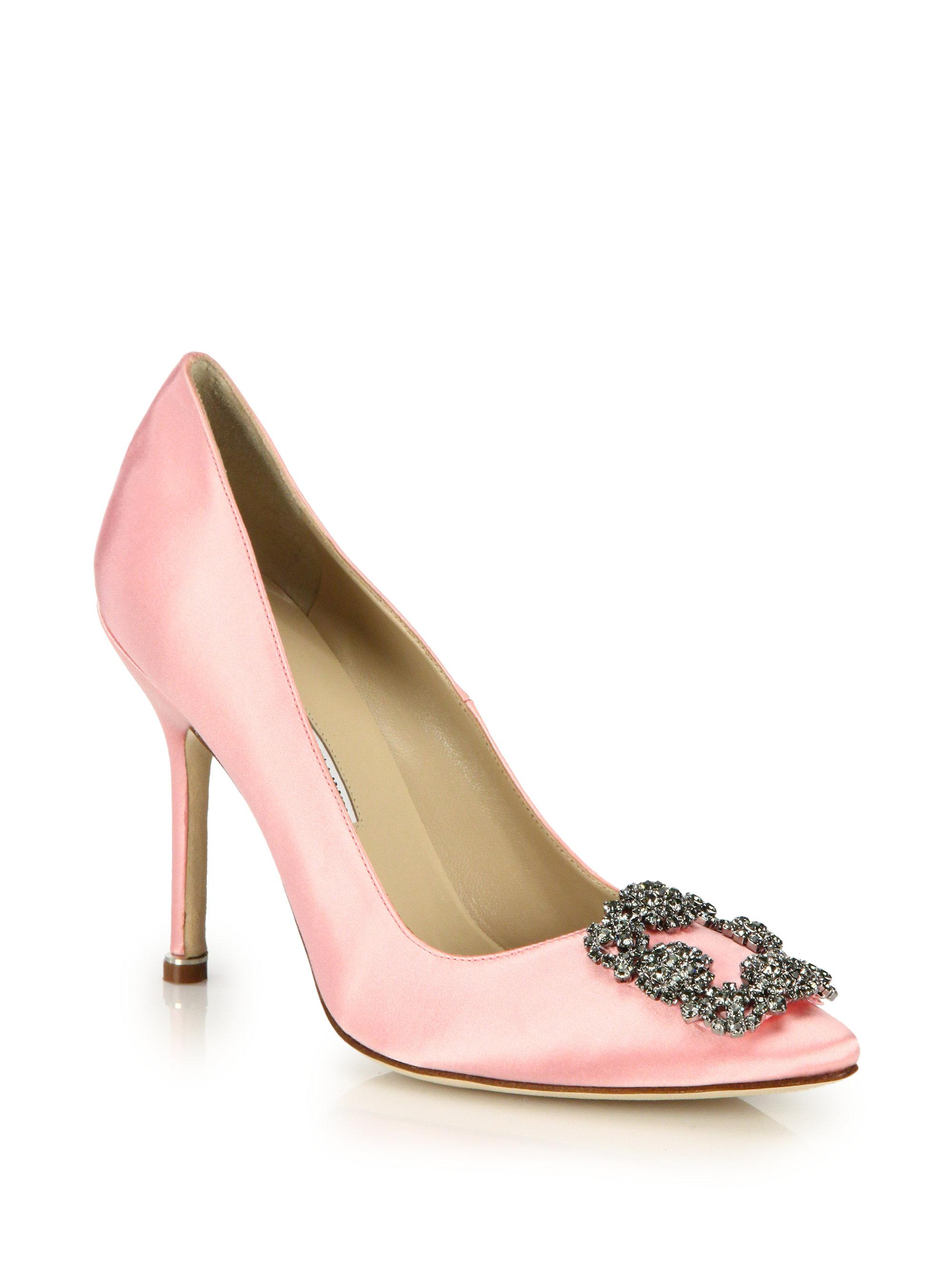 Gallery. Previously sold at: Saks Fifth Avenue · Women's Manolo Blahnik  Hangisi