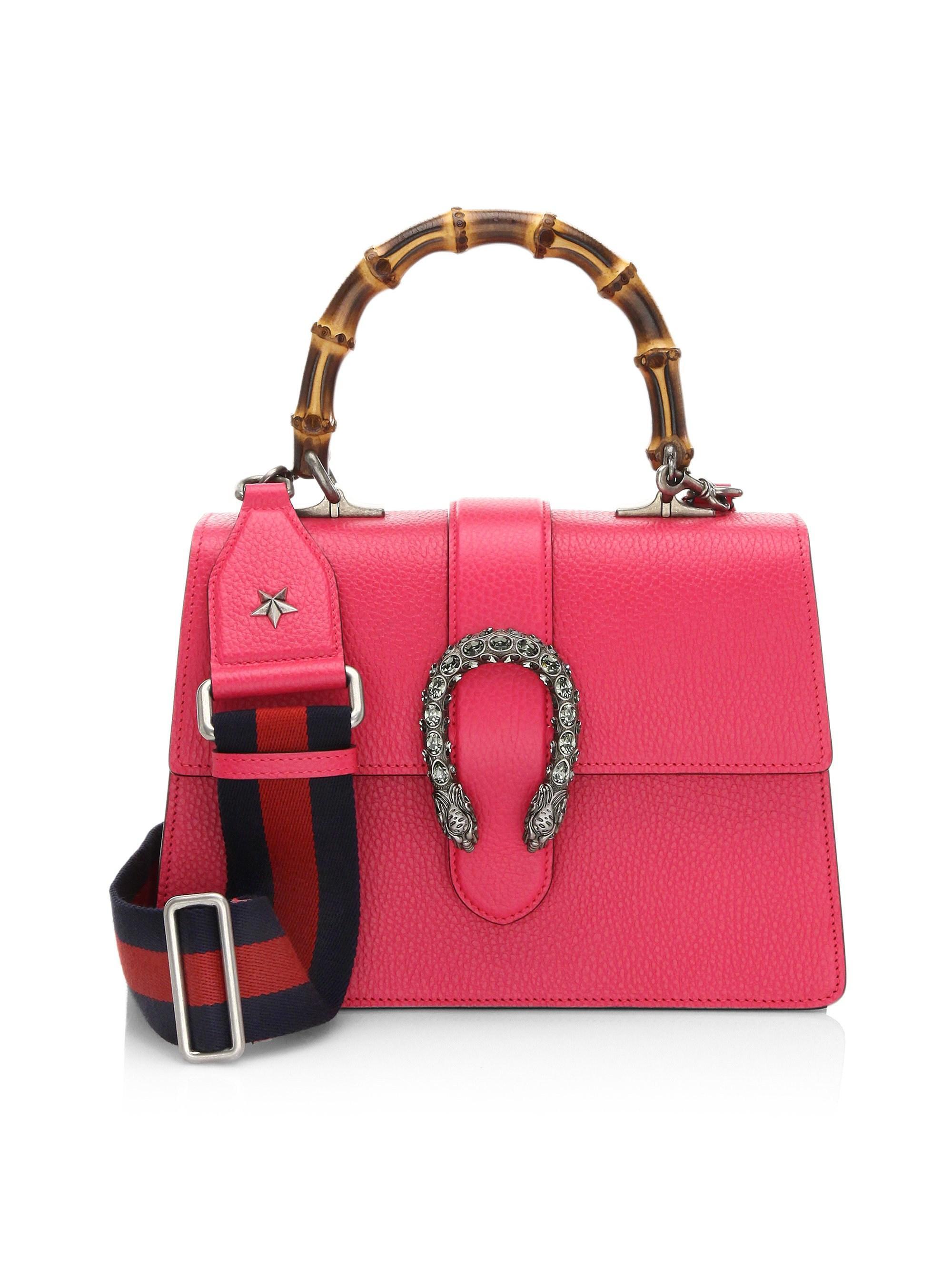 fe61e9f0eb Lyst - Gucci Women s Dionysus Medium Top Handle Bag - Blue in Pink
