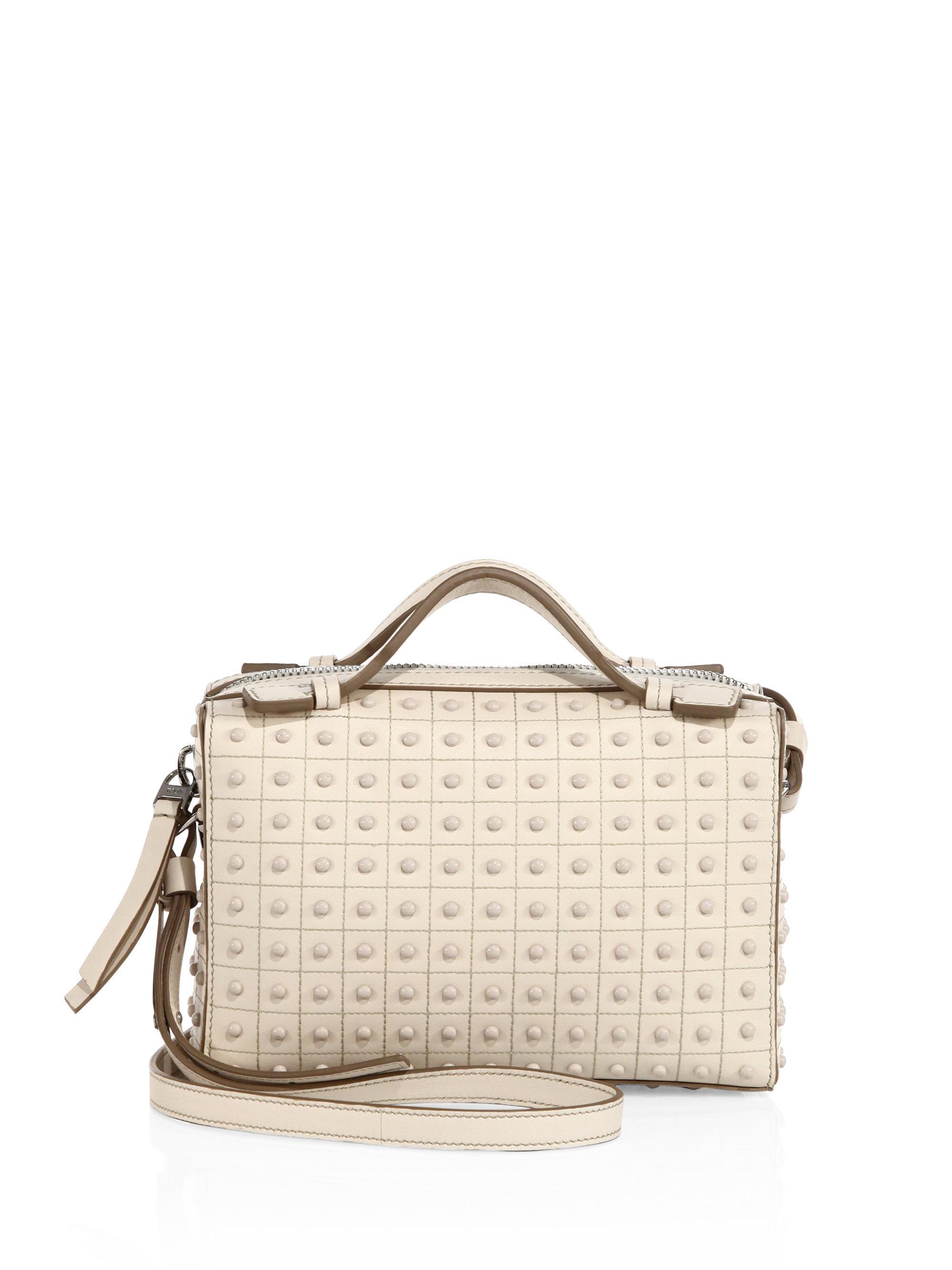 Gommino leather shoulder bag Tod's 0mPoh95STj