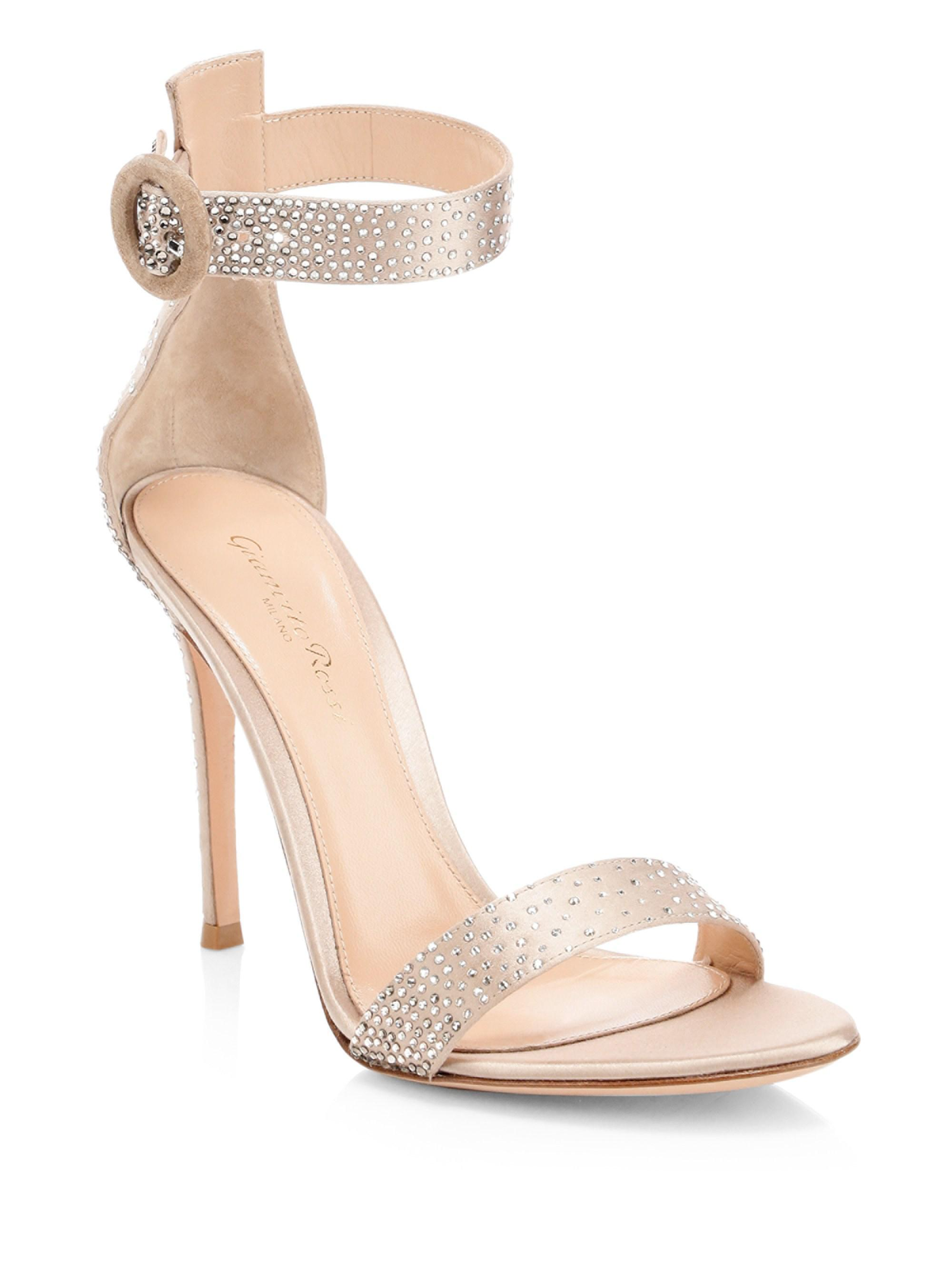 820e3989458f lyst – gianvito rossi strass crystal embellished sandals. Download Image  2000 X 2667