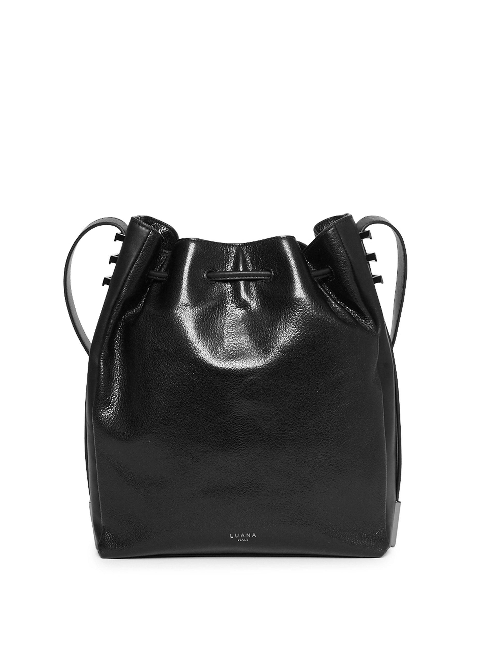Pre-owned - Leather shoulder bag Luana Italy e7slXuB