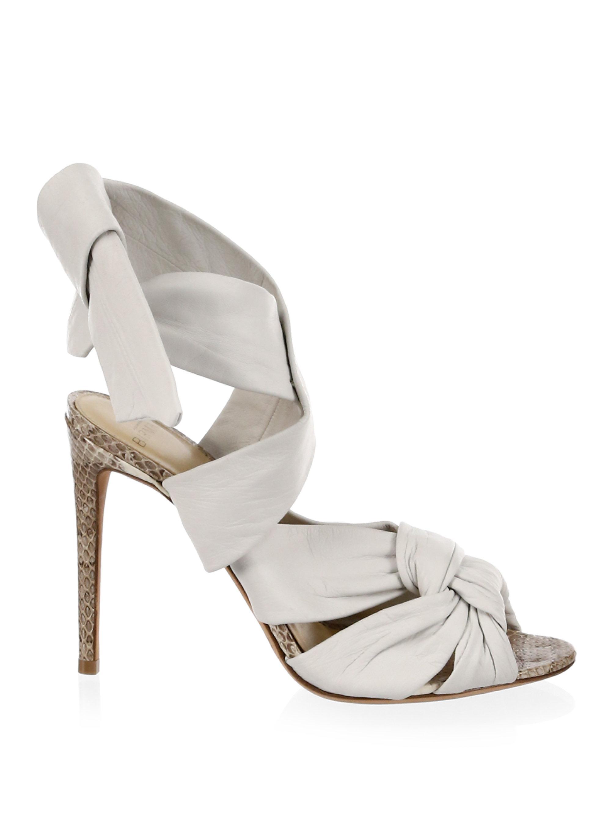 Maleah sandals - White Alexandre Birman r1jA8a9d