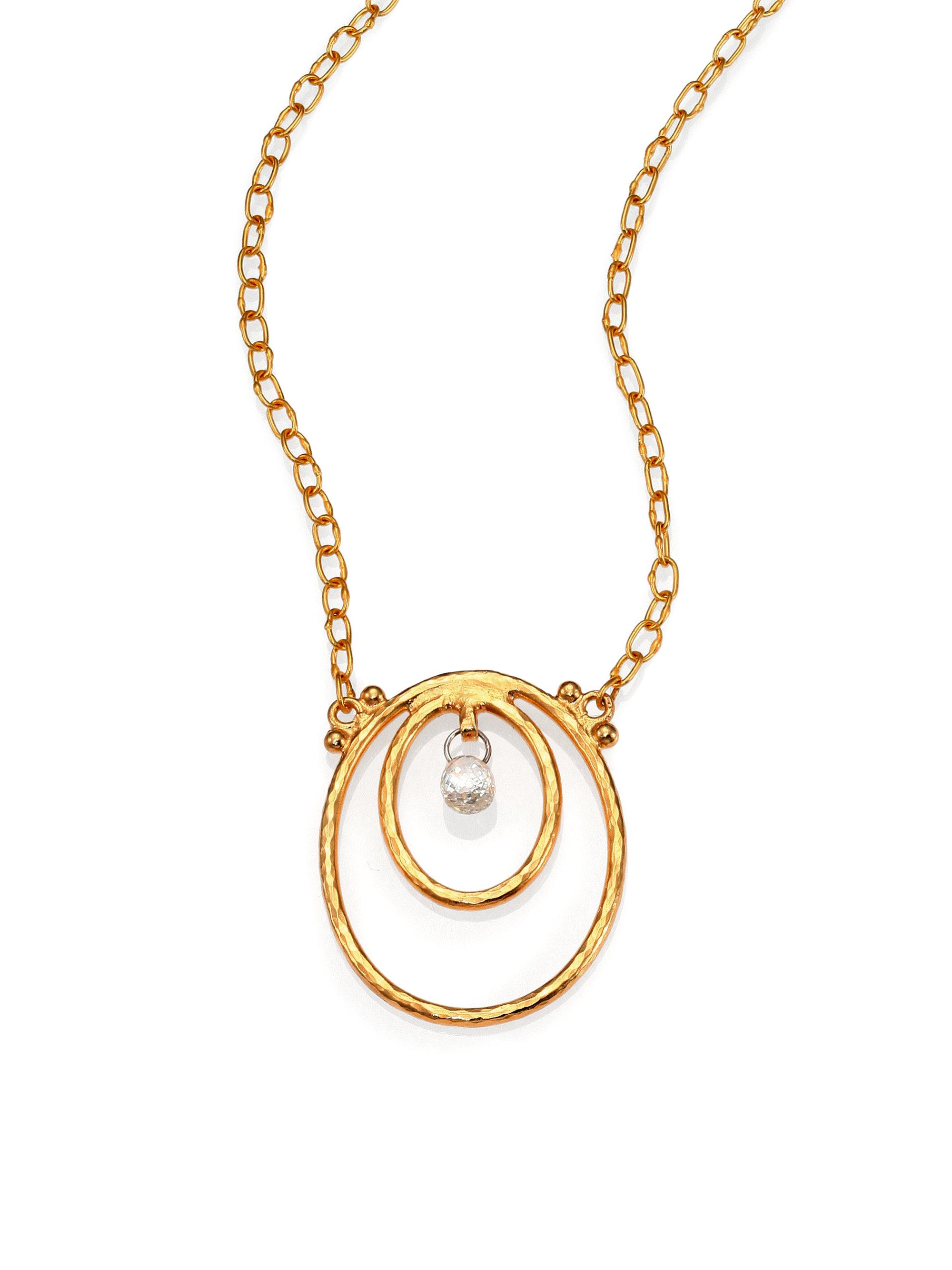 Gurhan Hoopla Graduating Two-Tone Chain Necklace lppES