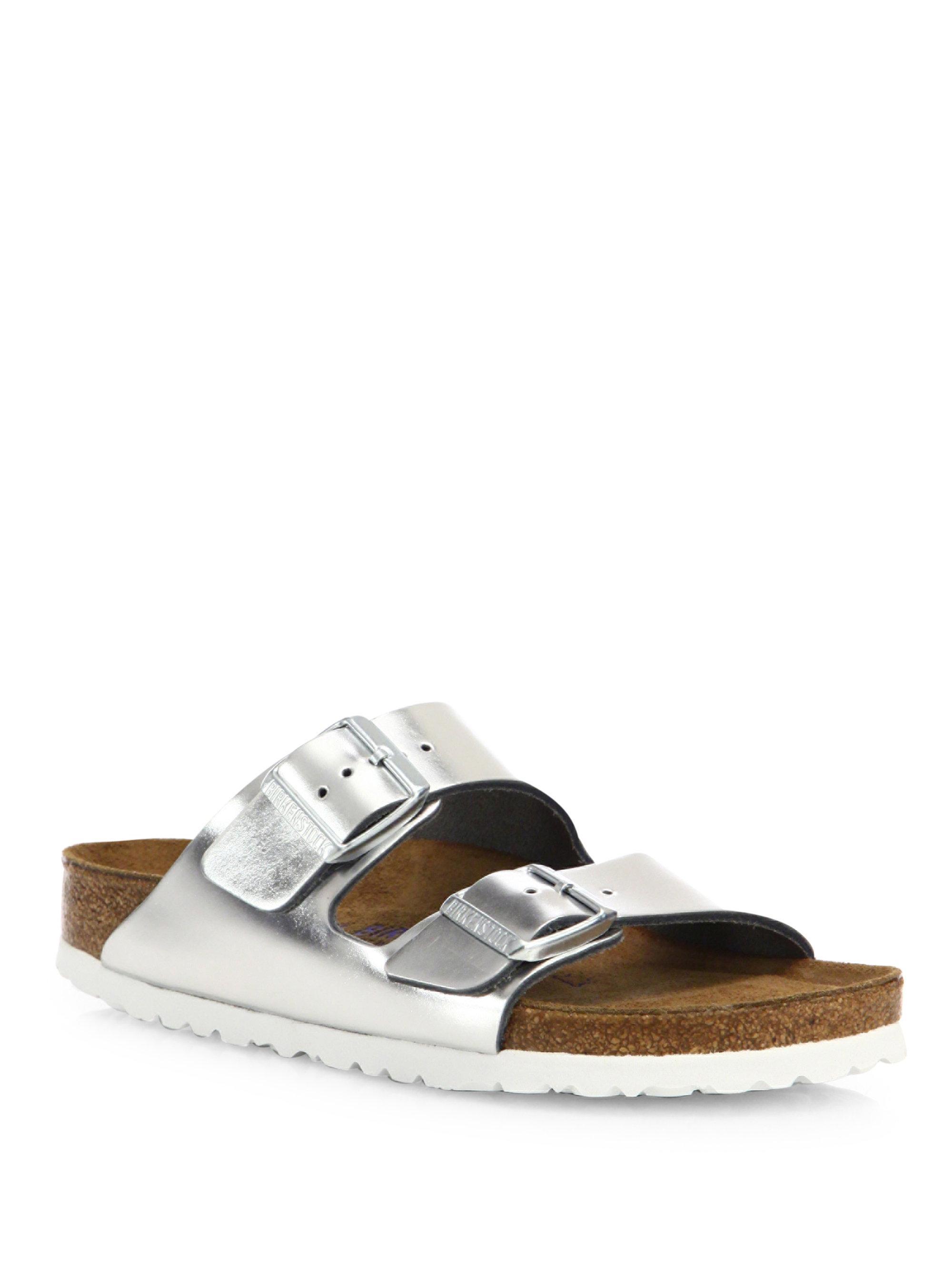 COqg8Ps9IH Arizona Metallic Leather Buckle Sandals Bo5OzME2C