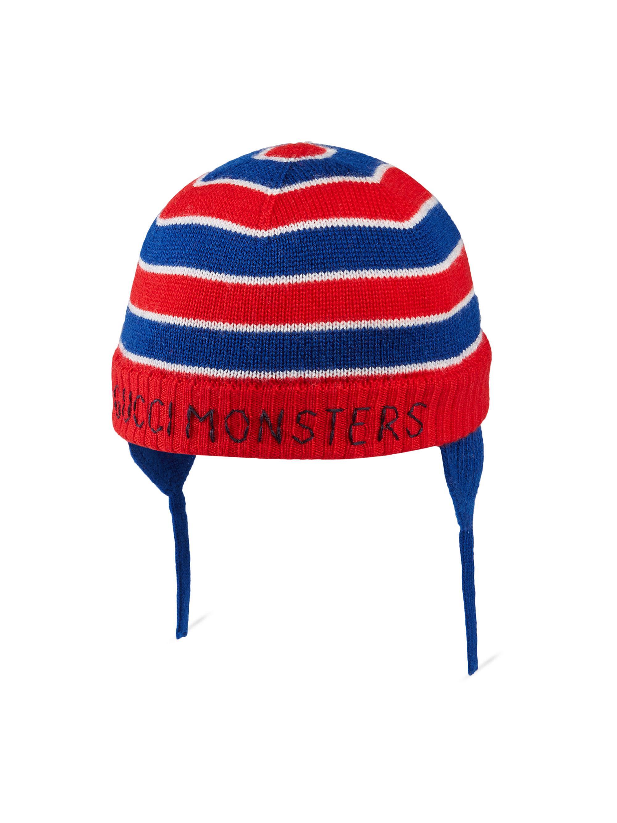 Gucci Kid s Stripe Wool Hat in Blue for Men - Lyst 469234ece979