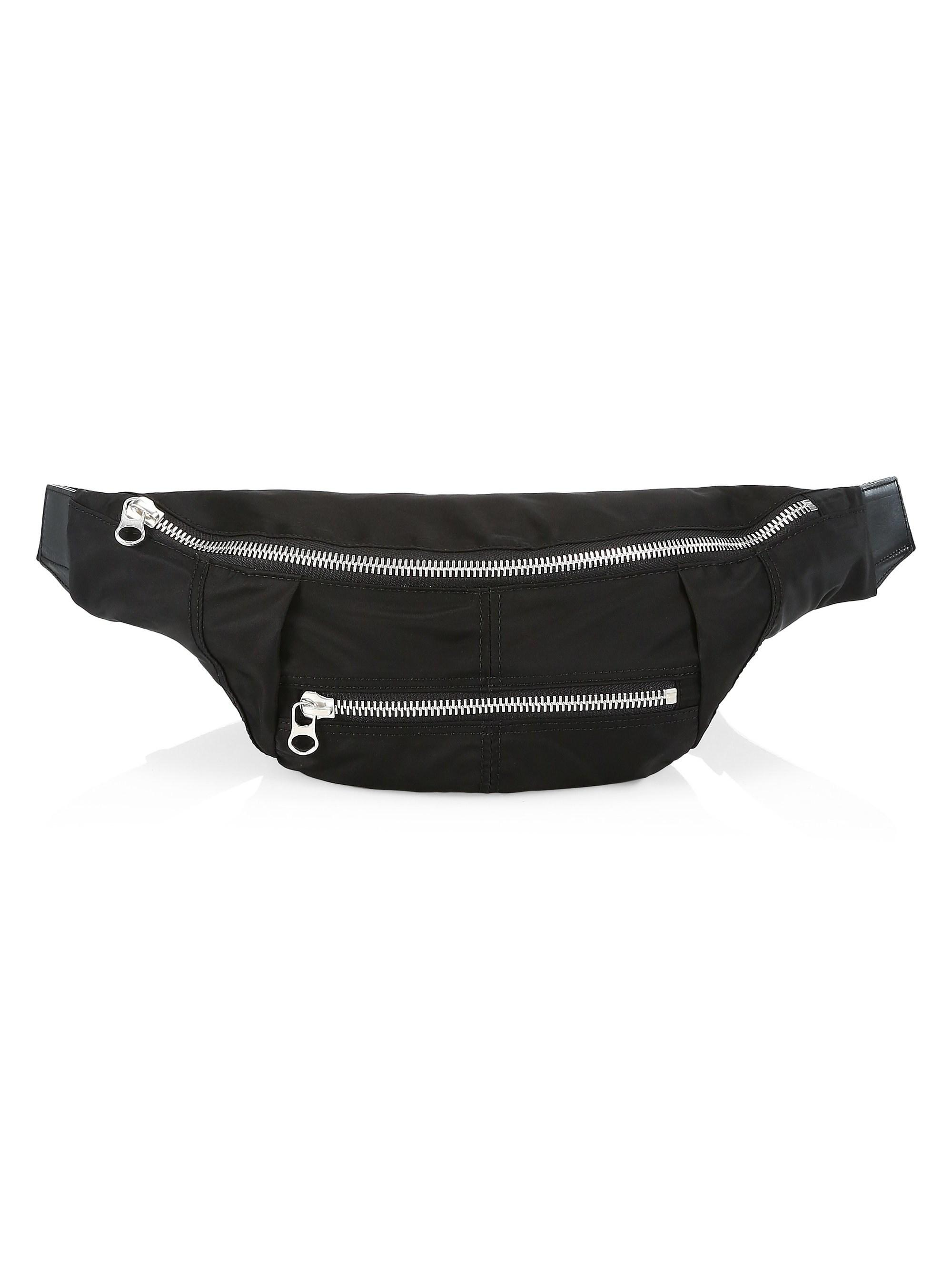 3d55abb5f12e54 Isabel Marant Nylon Belt Bag in Black - Save 30% - Lyst