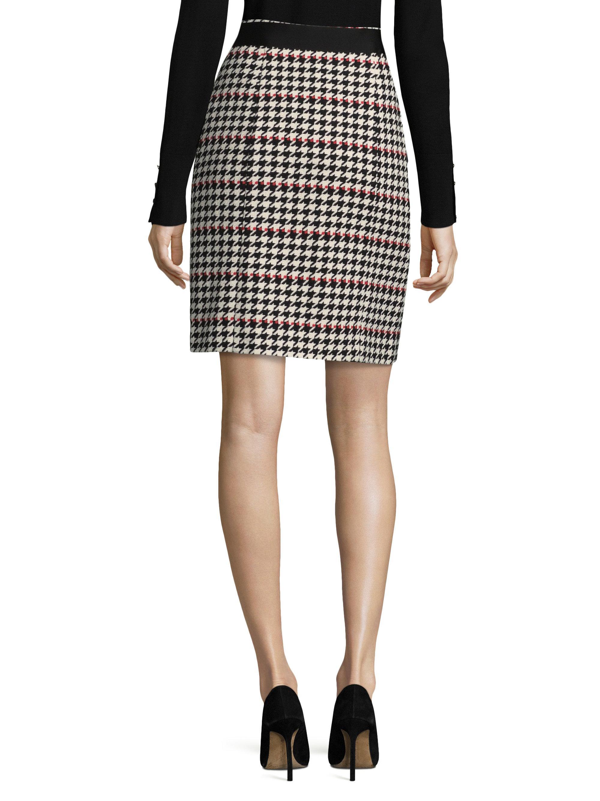 7a4f4f0b2fd Lyst - BOSS Vulona Skirt in Black